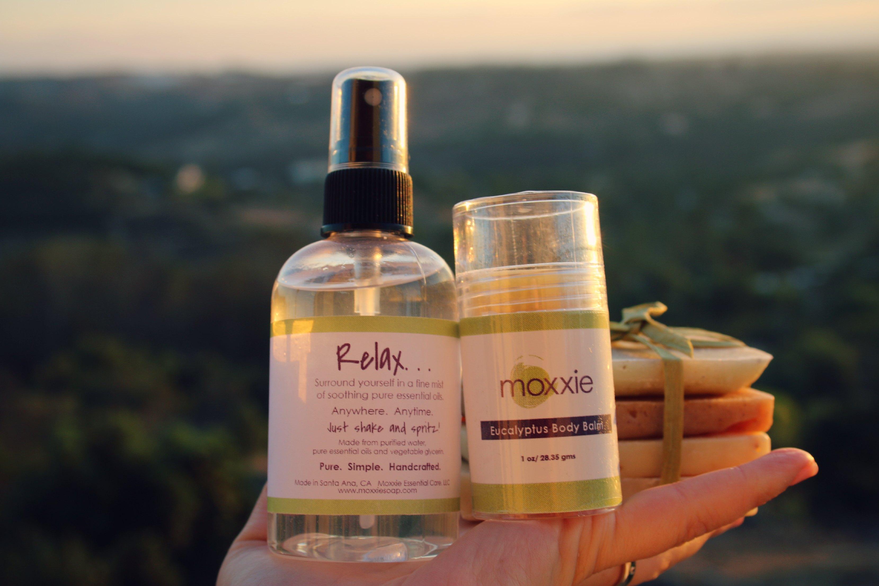 essential oil spray