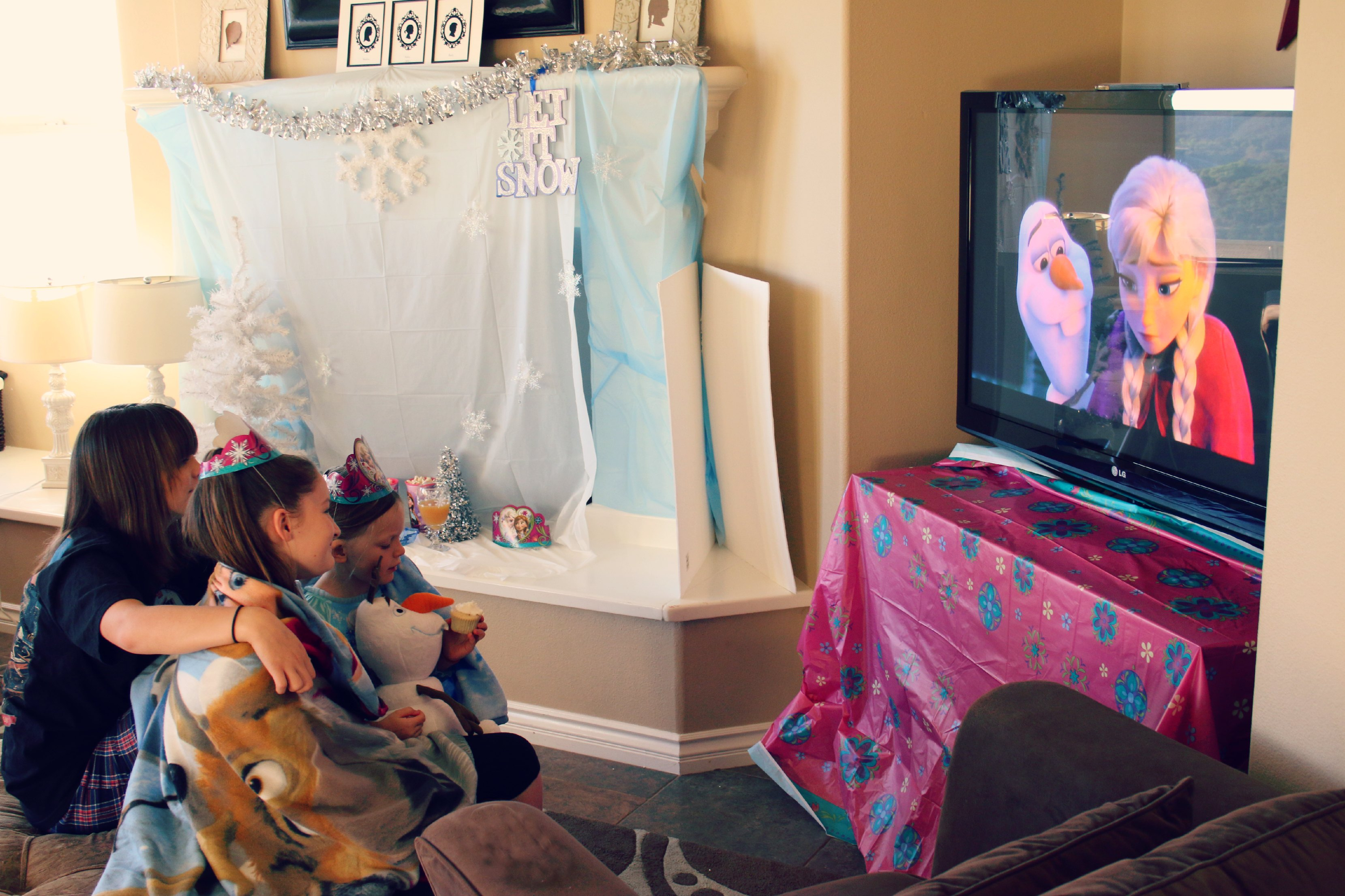 frozen sing along party ideas