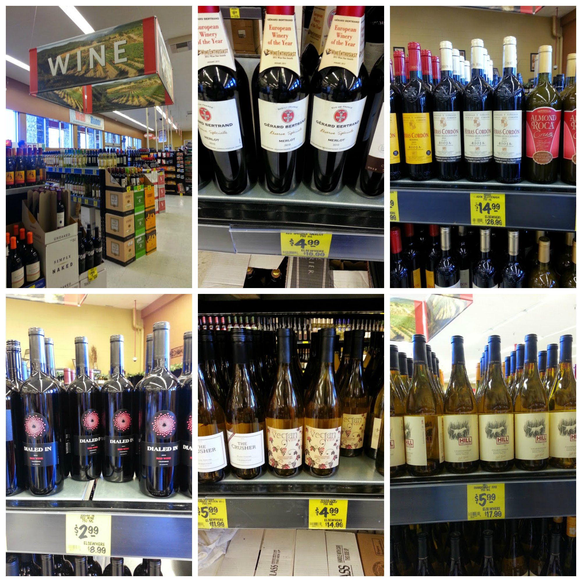 grocery outlet wine