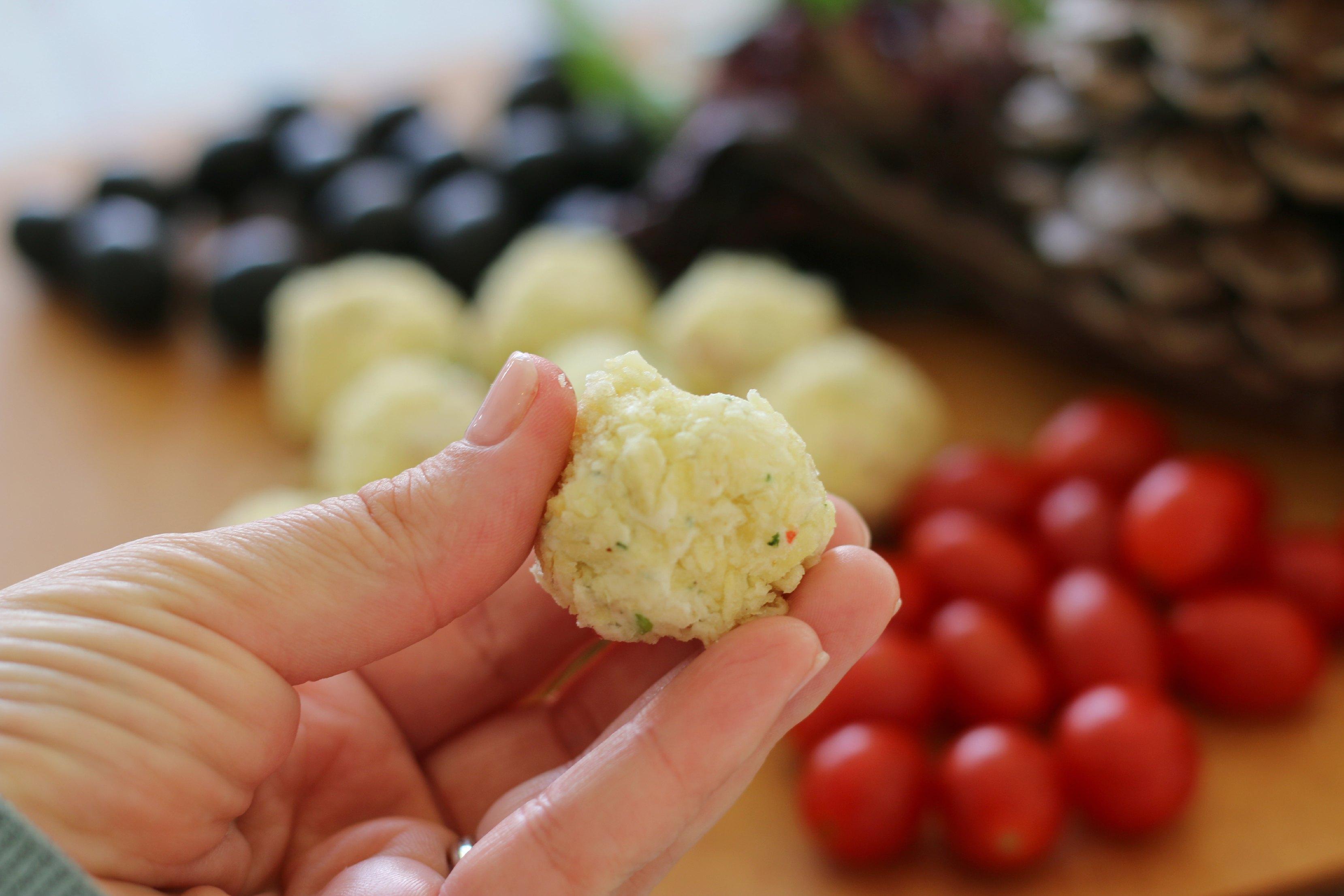 how to make cheeseballs
