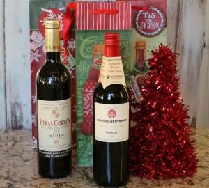 wine christmas gift