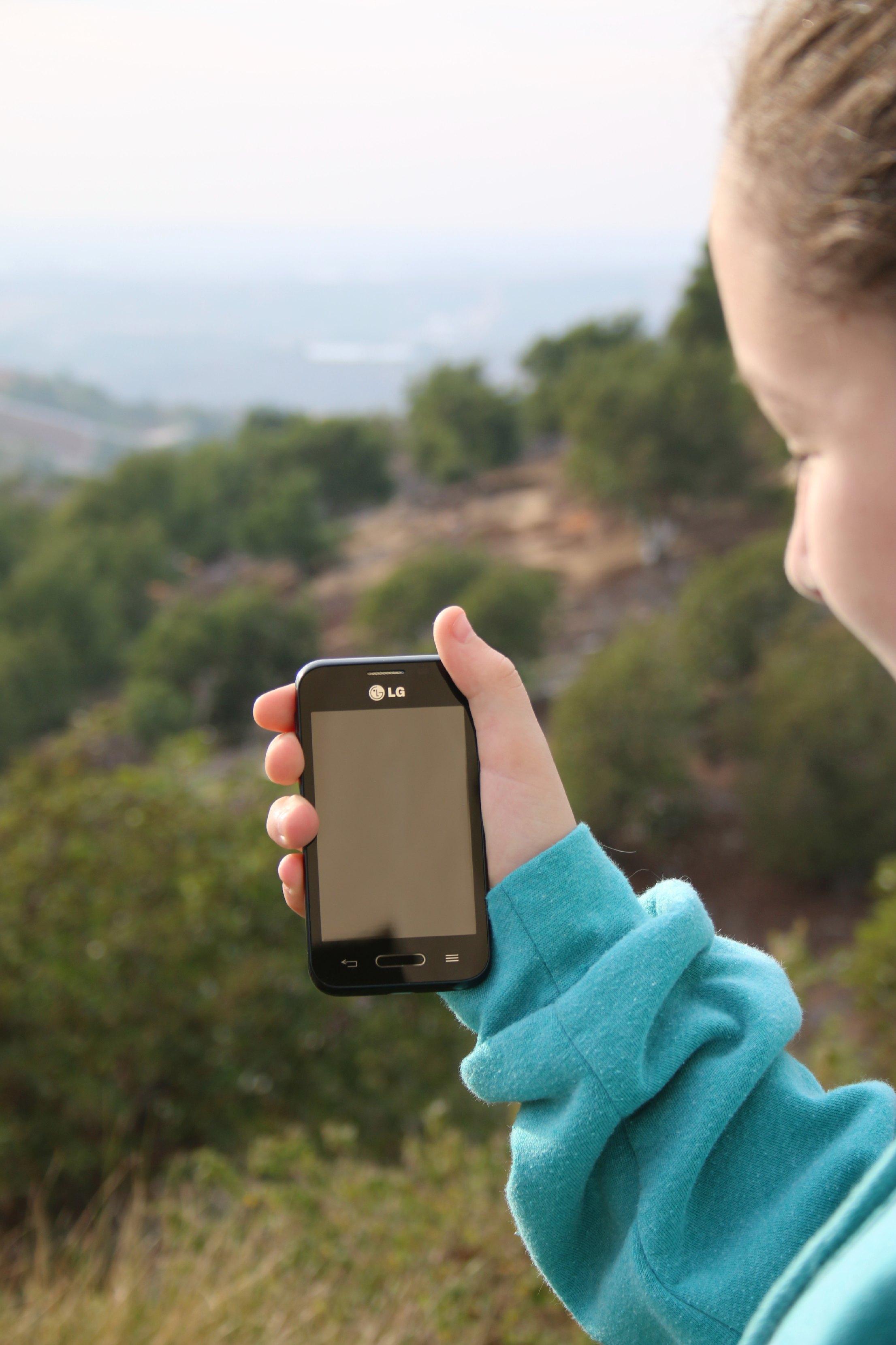 LG Spongebob squarepants phone