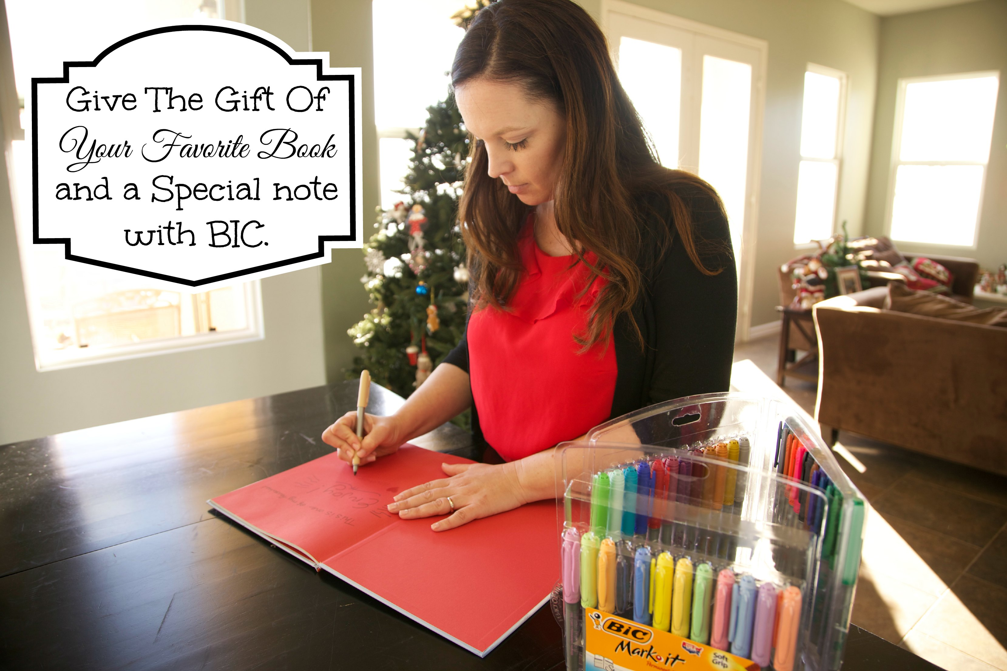 bIC to personalize a book