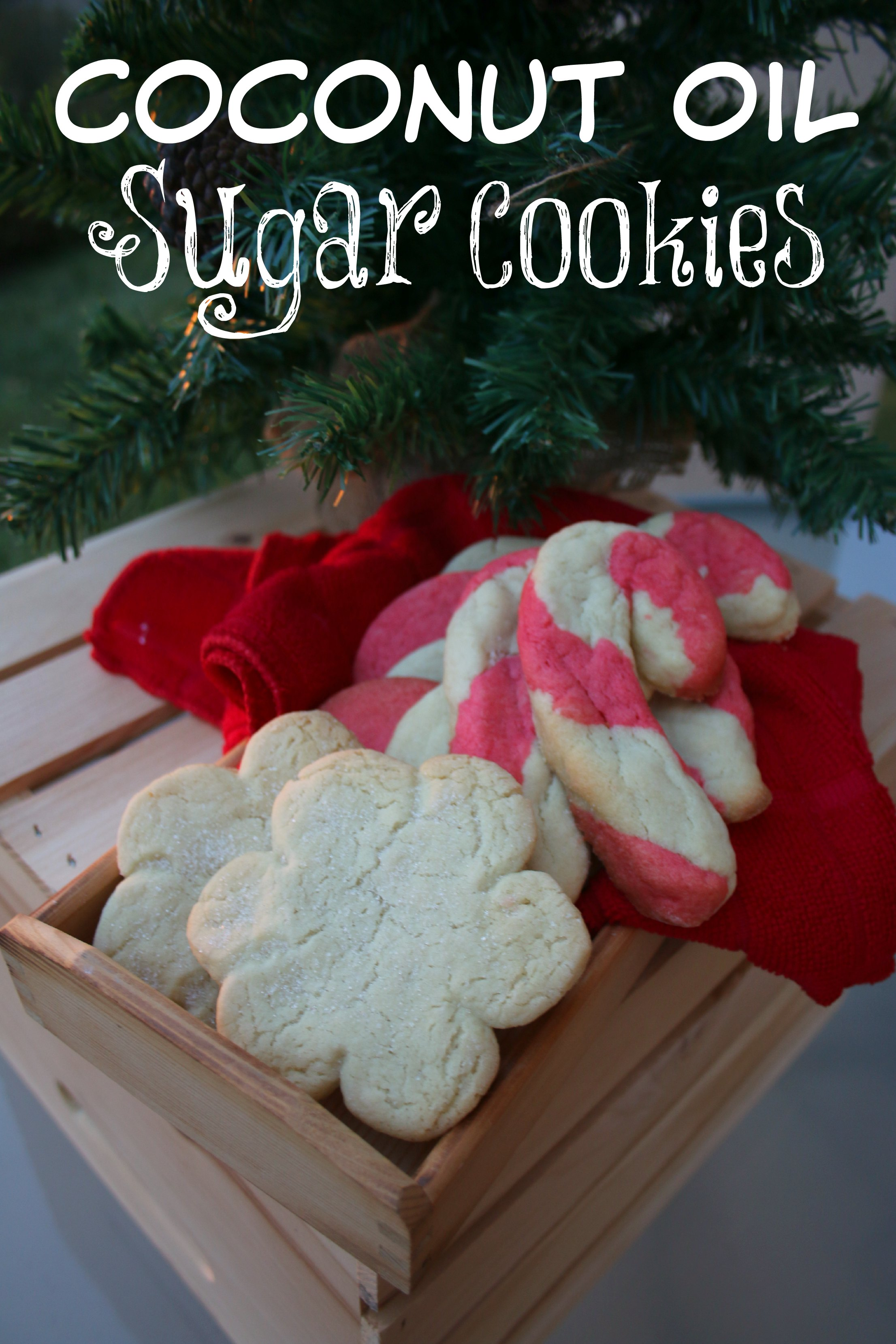 coconut oil sugar cookies