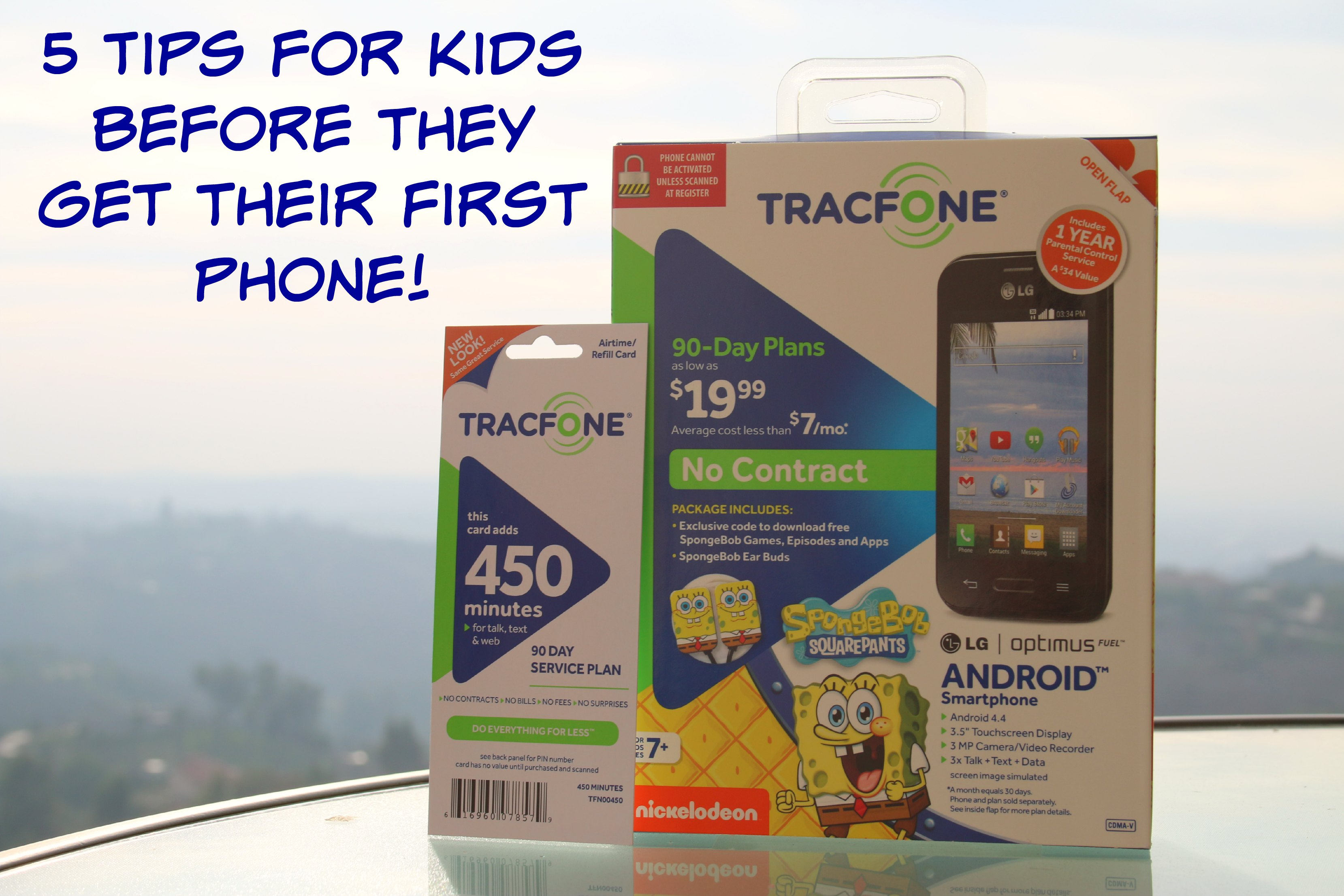 five tips for kids before they get their first cell phone