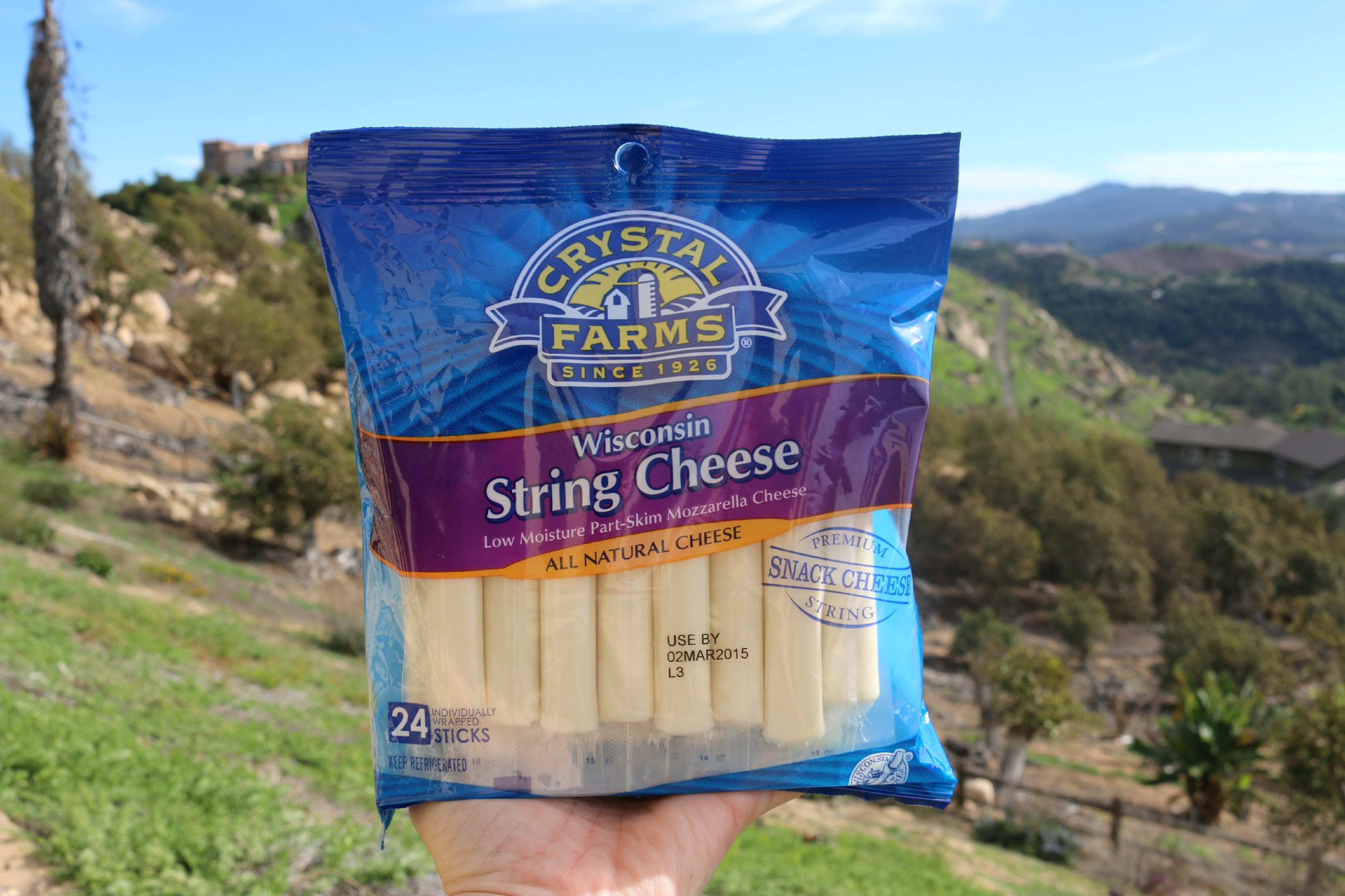 crystal farms string cheese