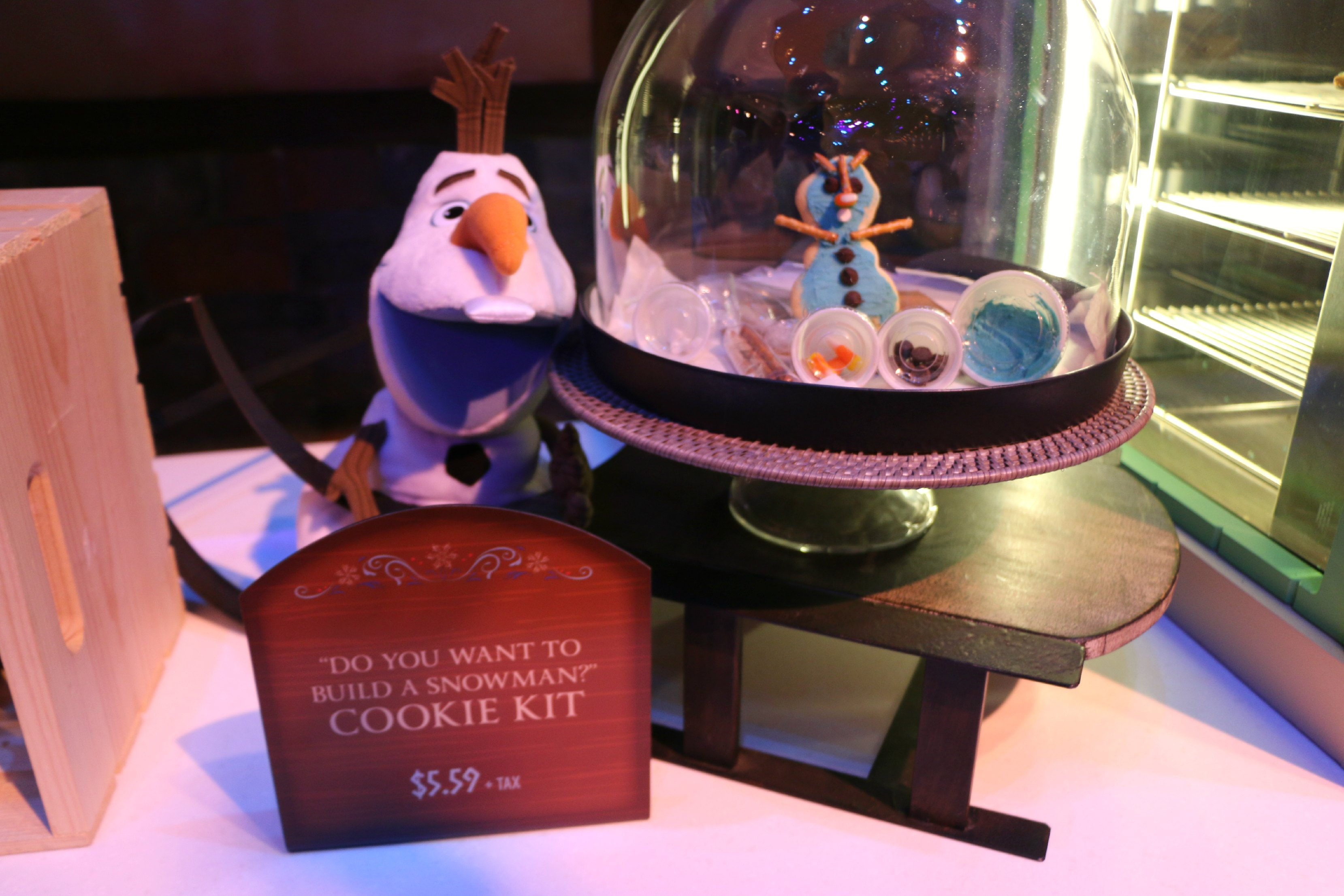 olaf cookie building kit