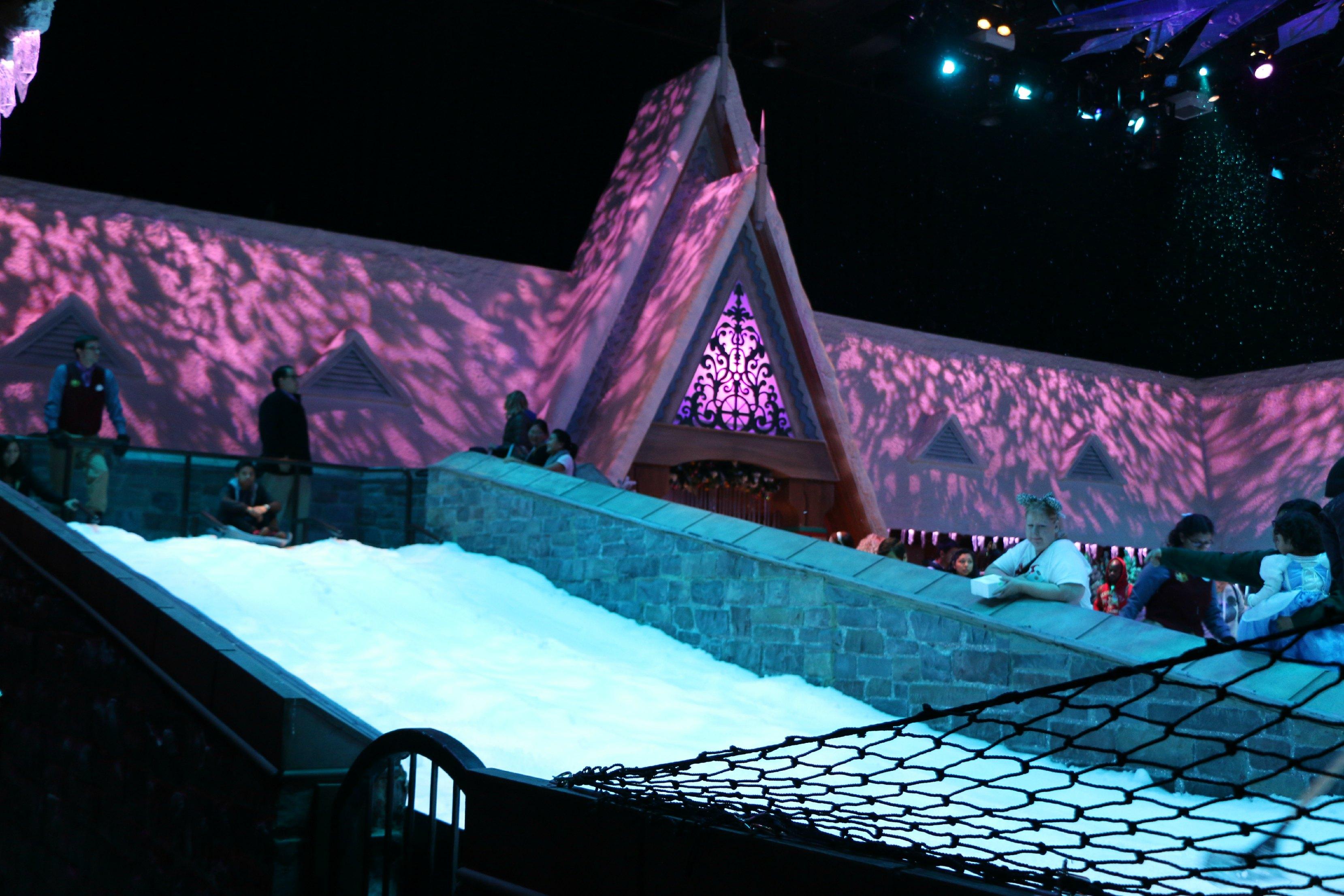 sledding frozen fun disneyland