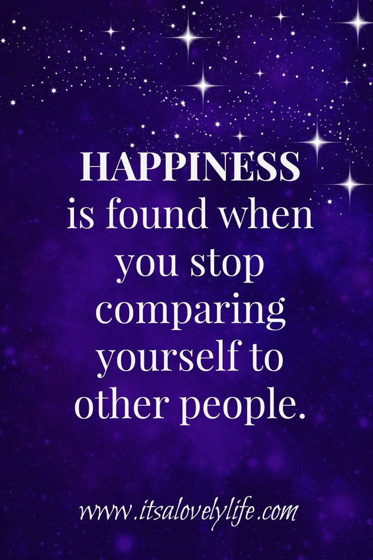 inspirational quotes- Don't compare yourself to others