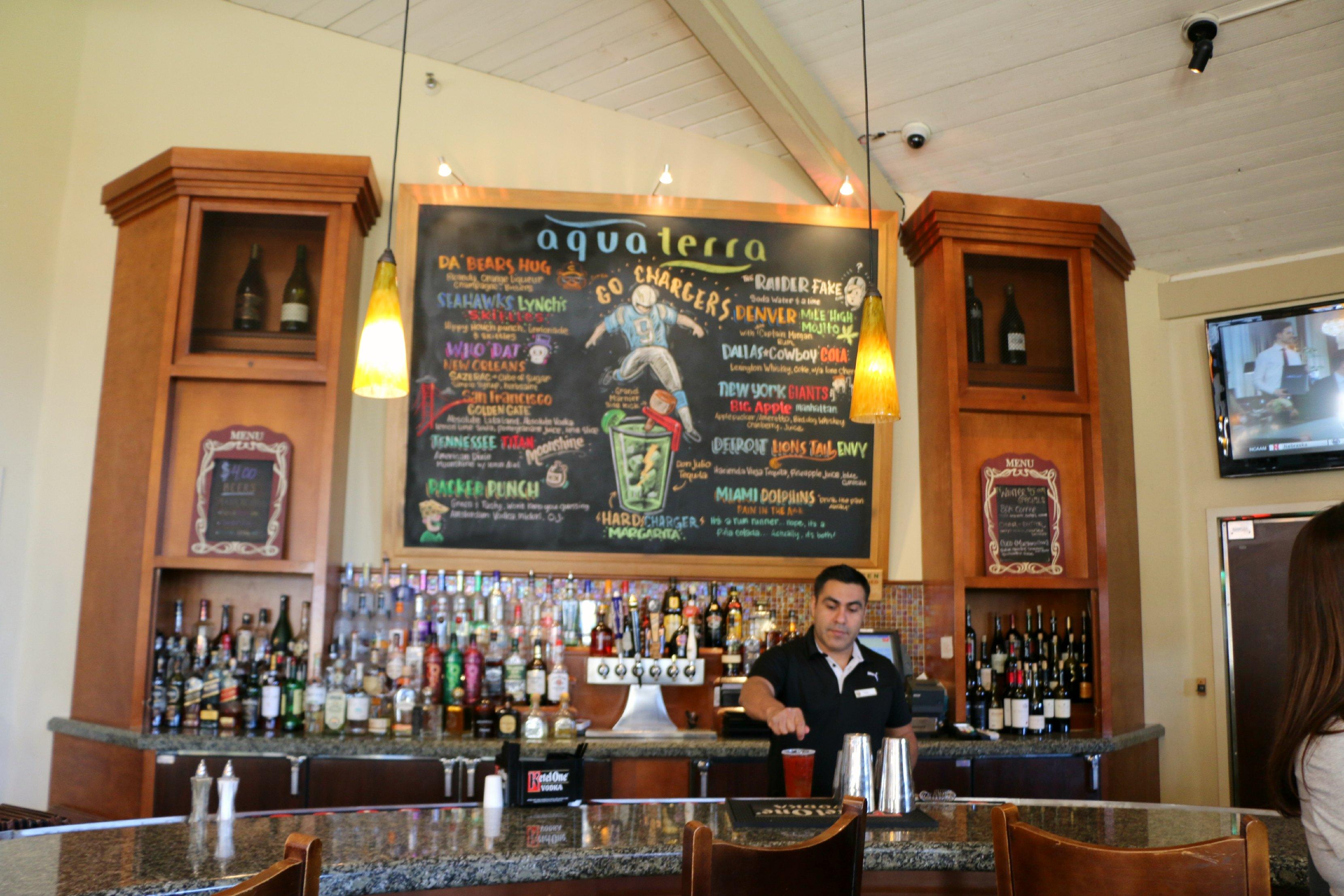 aqua terra restaurant