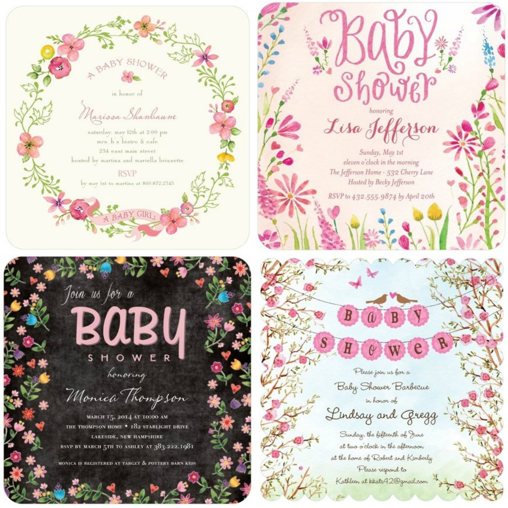 Beautiful baby shower invitations its a lovely life beautiful baby shower invitations filmwisefo