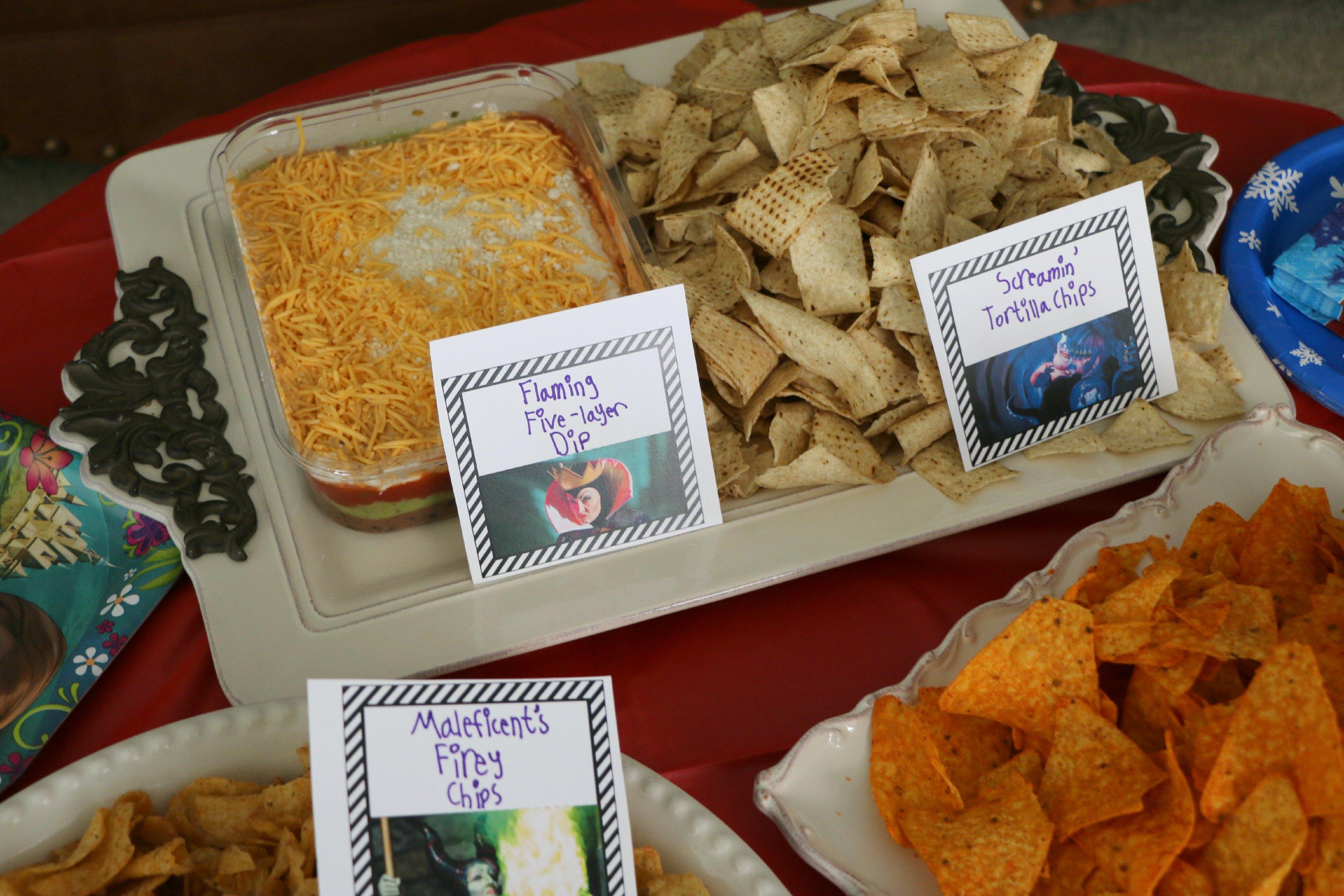 disney party foods