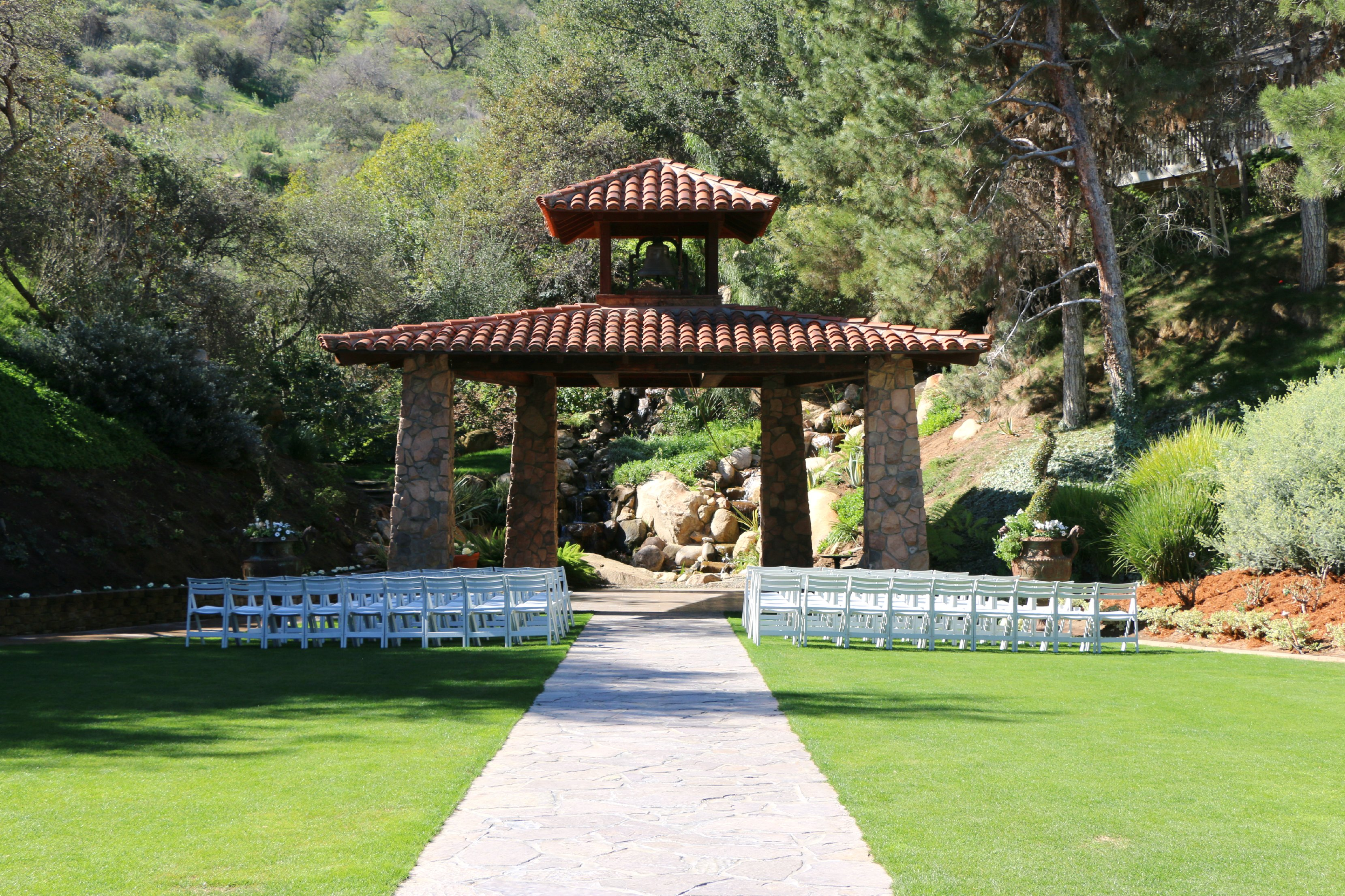 pala mesa wedding ceremony