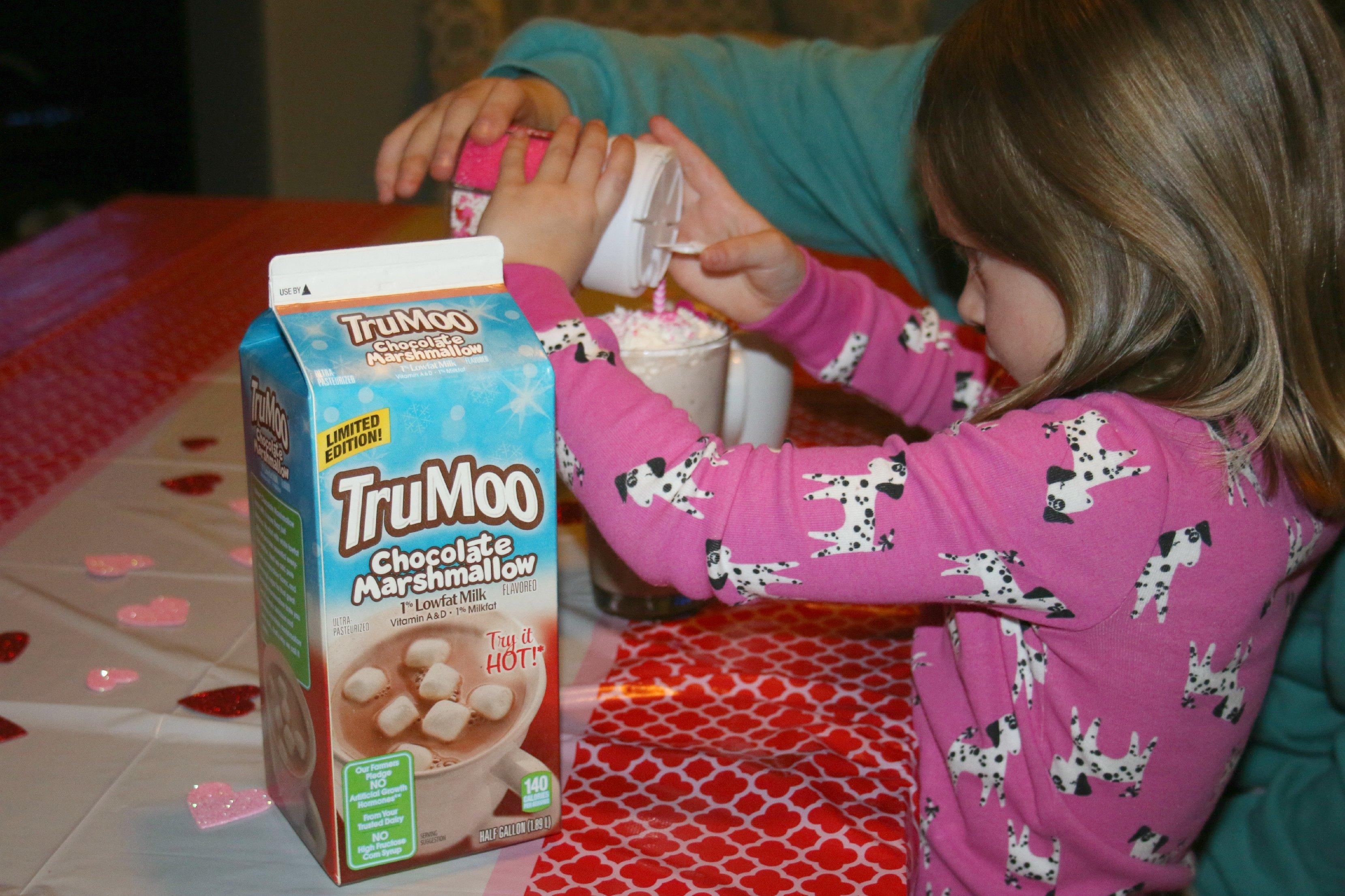 trumoo chocolate marshmallow hot chocolate