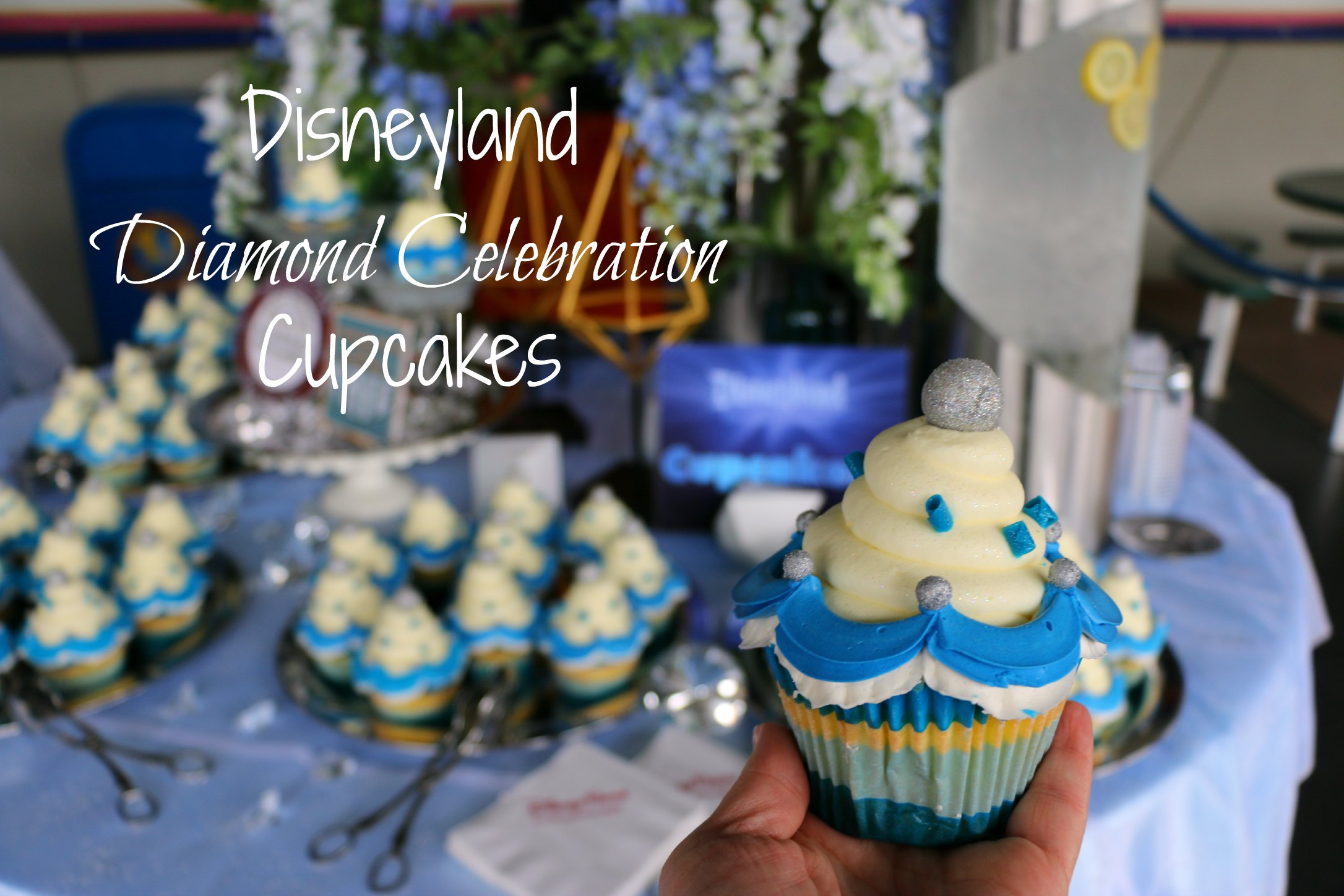 Disneyland Diamond Celebration Cupcakes