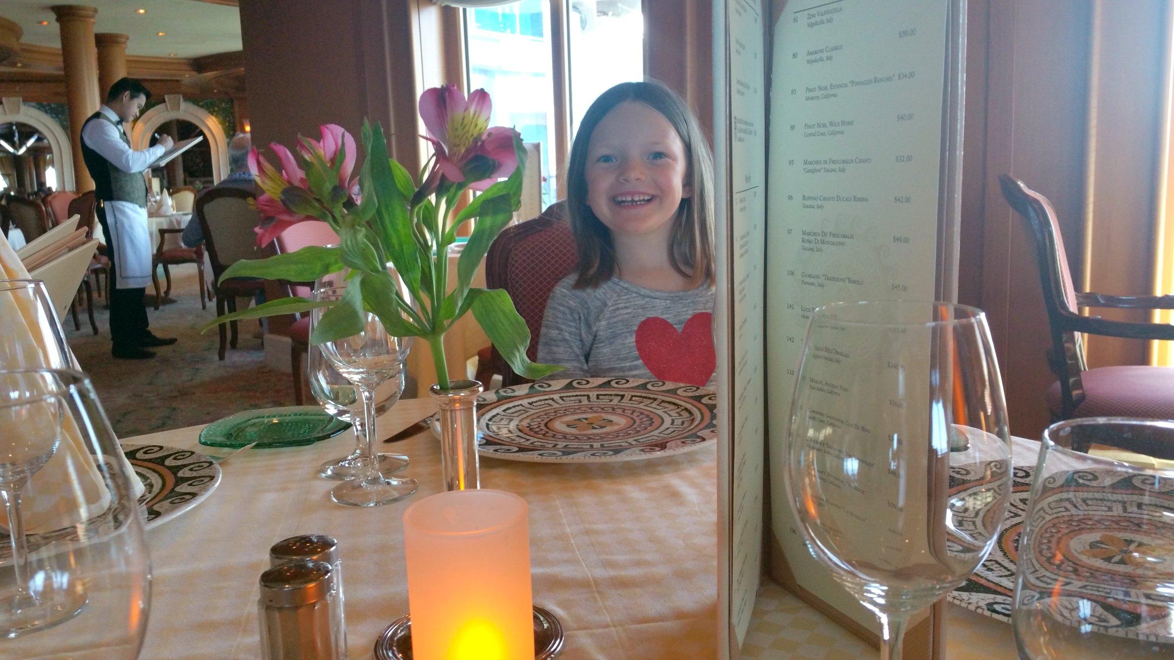 Sabatini's Restaurant on board Princess Cruises