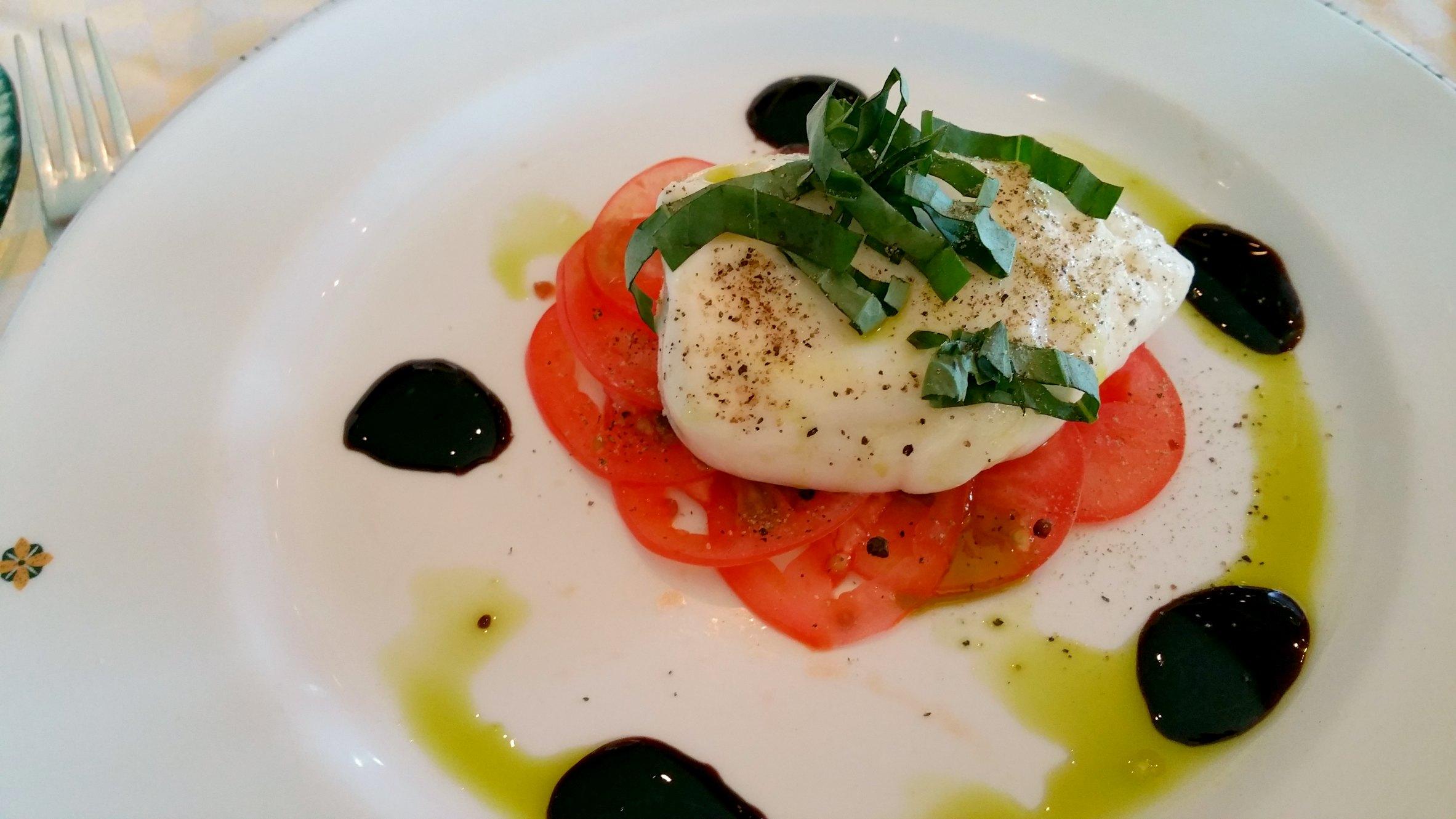 Sabatini's crown princess mozzarella salad