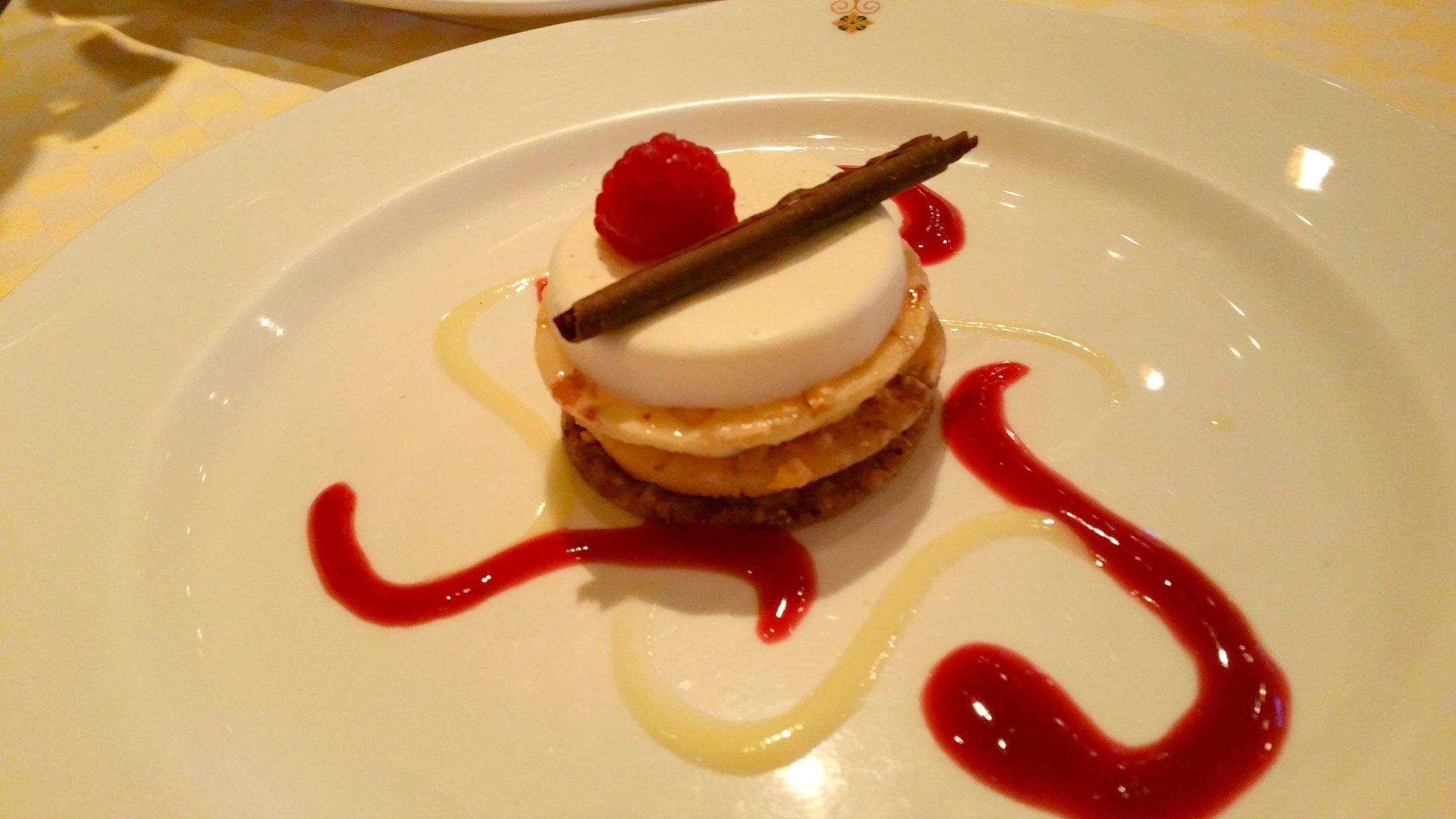 Sabatini's crown princess specialty desserts
