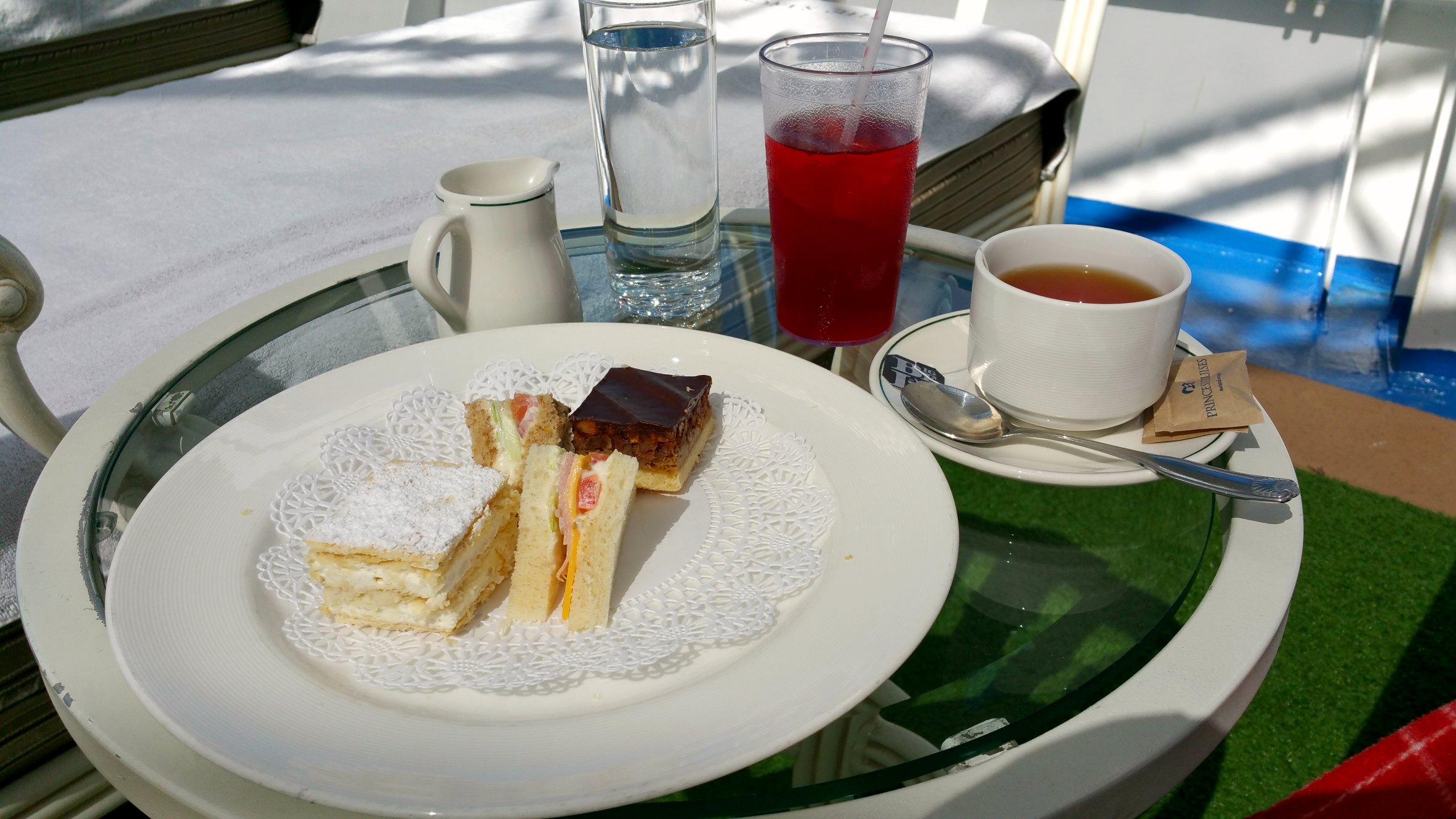 afternoon tea princess cruises