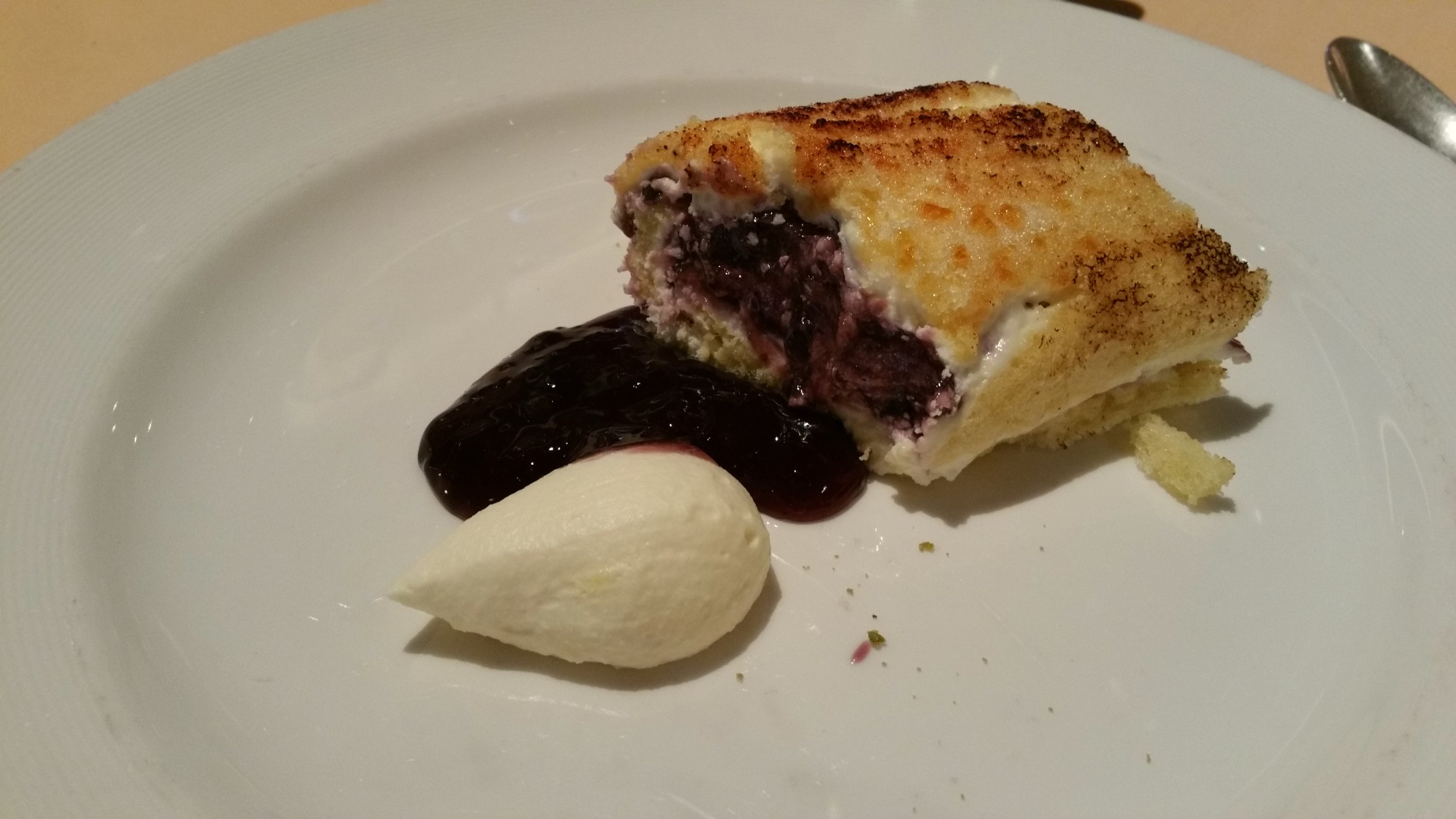 blueberry dessert princess cruises