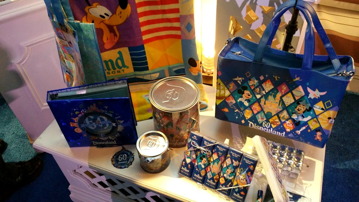 disneyland diamond celebration bags