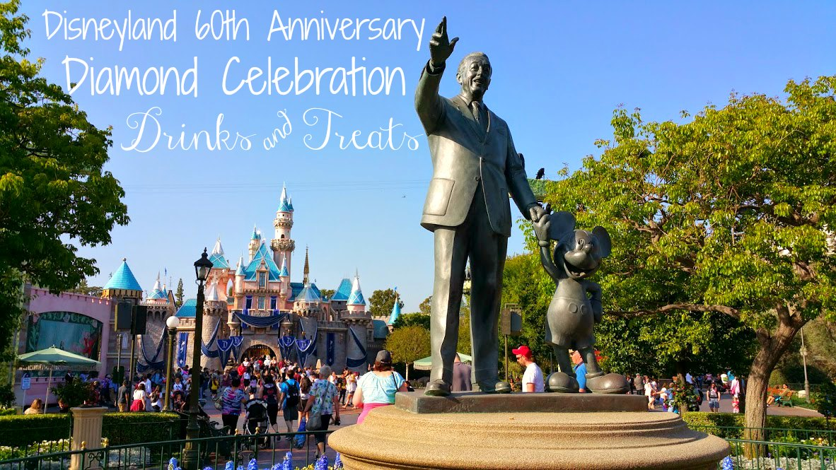 disneyland diamond celebration drinks and food list
