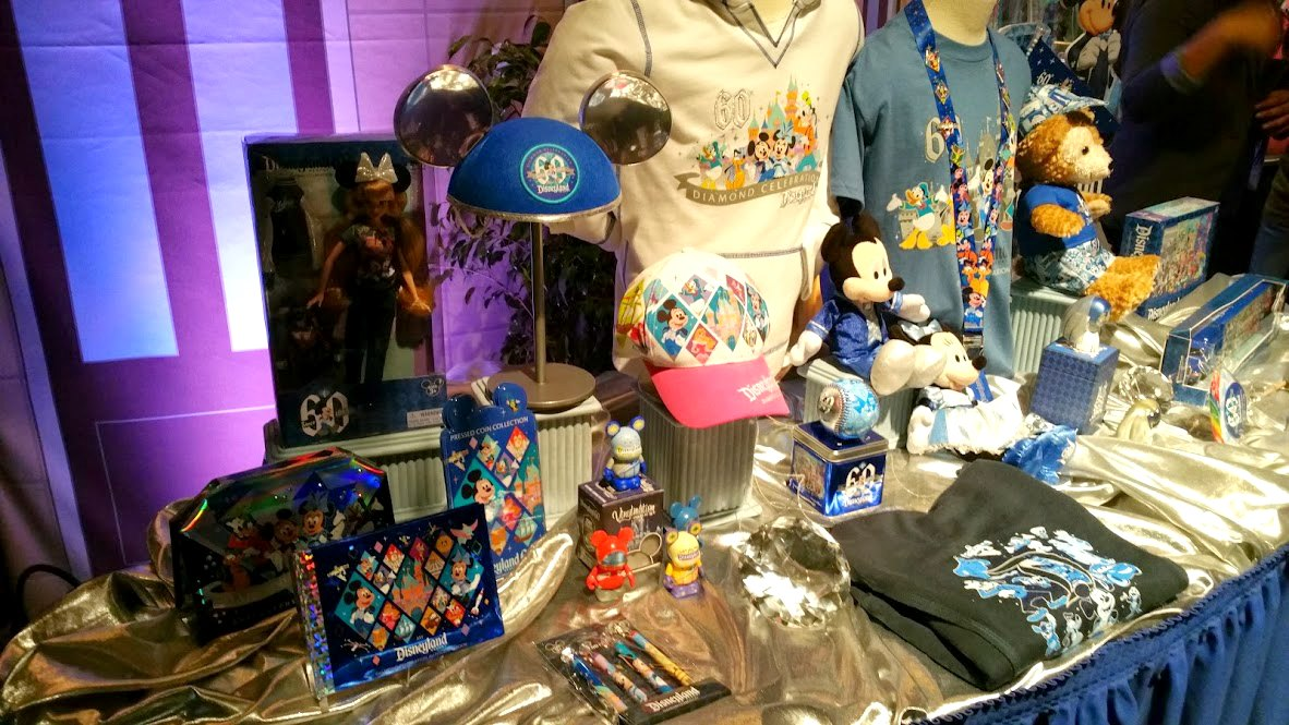 disneyland goodies 60th