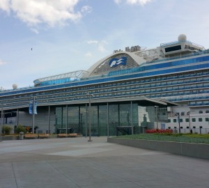docked crown princess