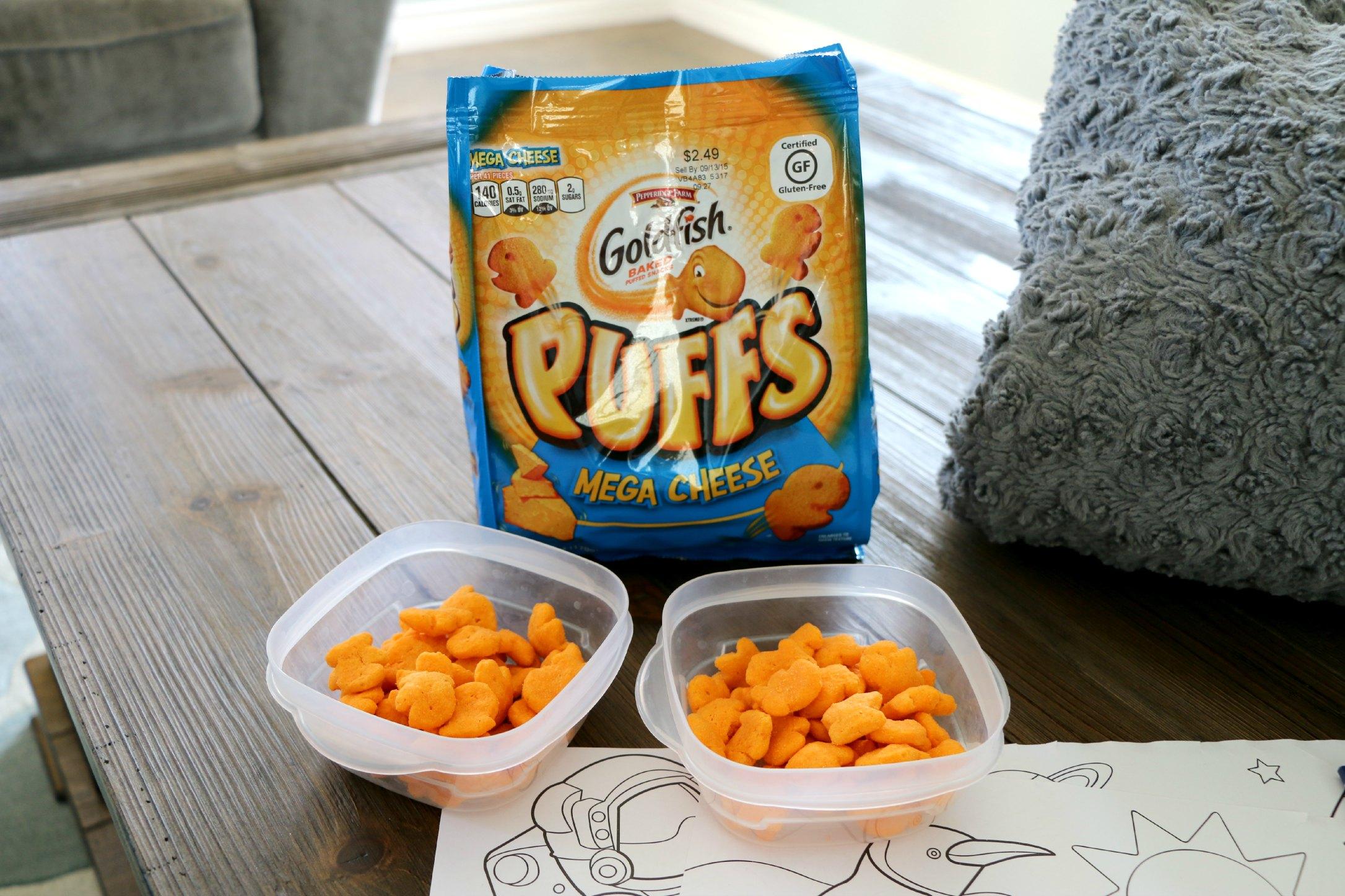 goldfish puffs mega cheese