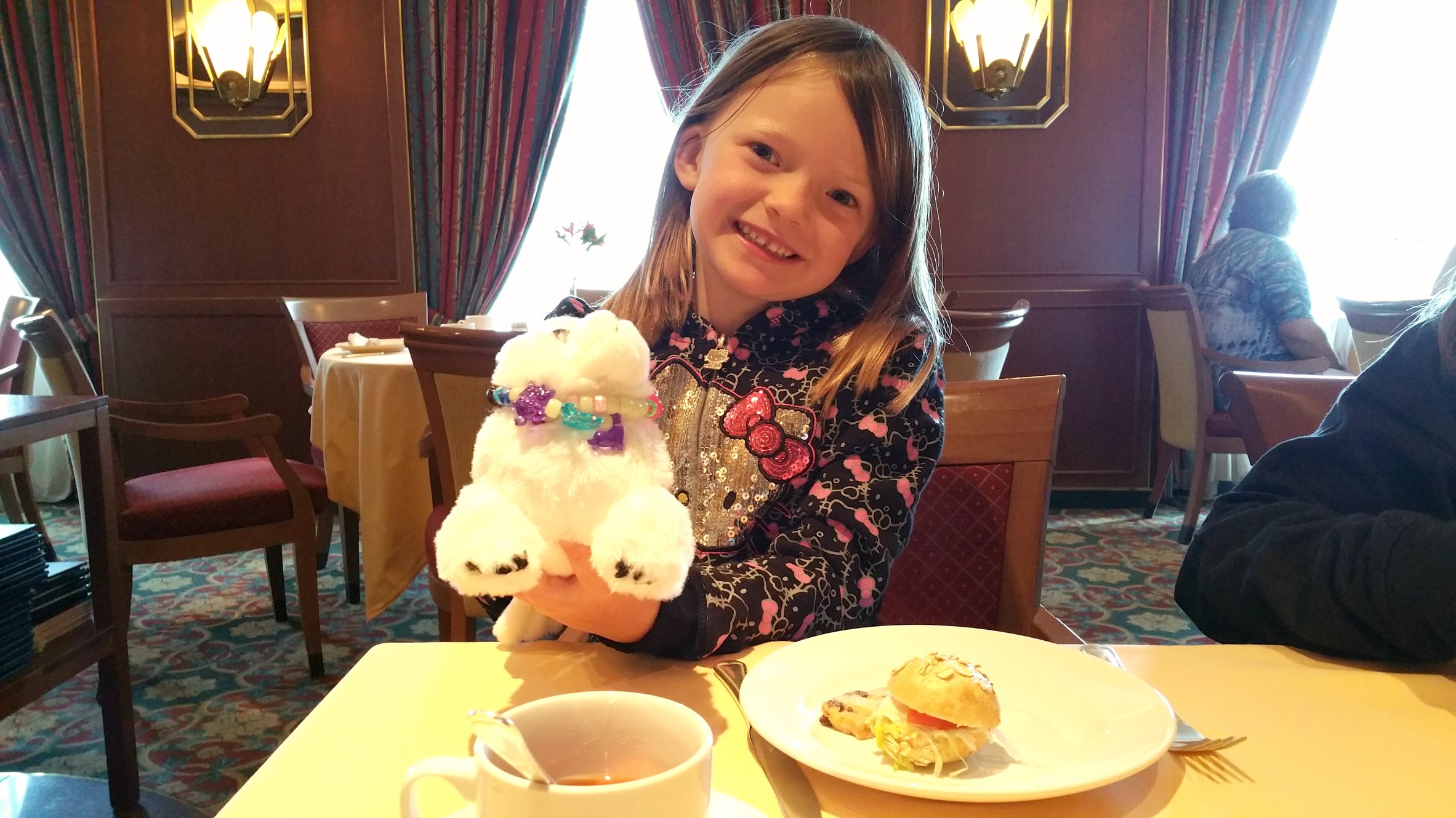 kids tea aboard crown princess