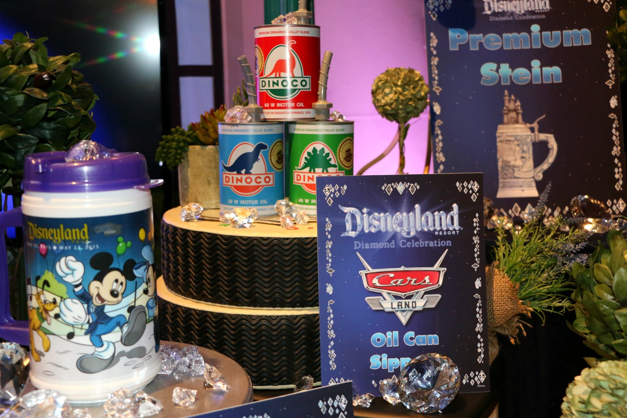 new 60th anniversary disneyland merchandise