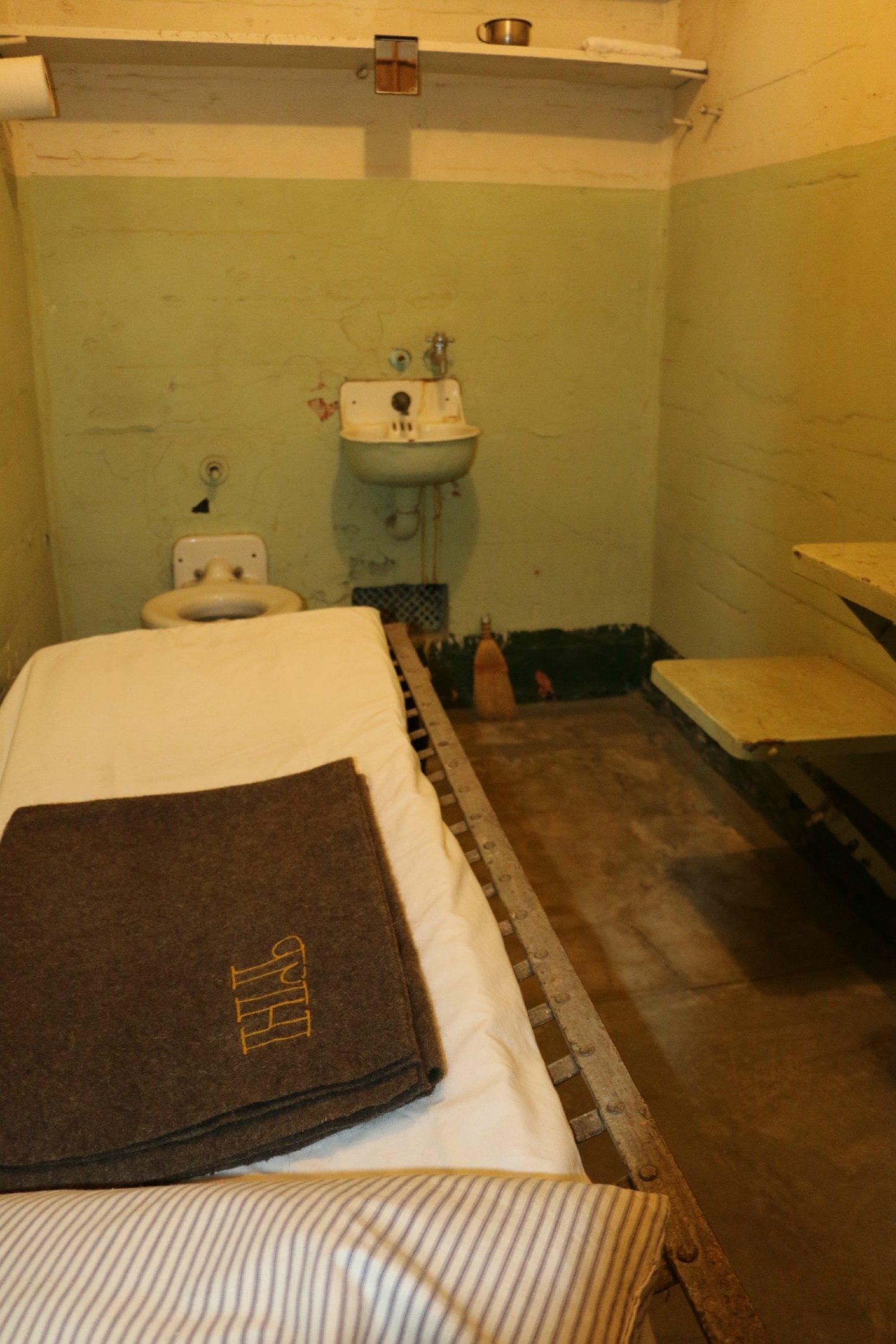 new prisoner room alcatraz