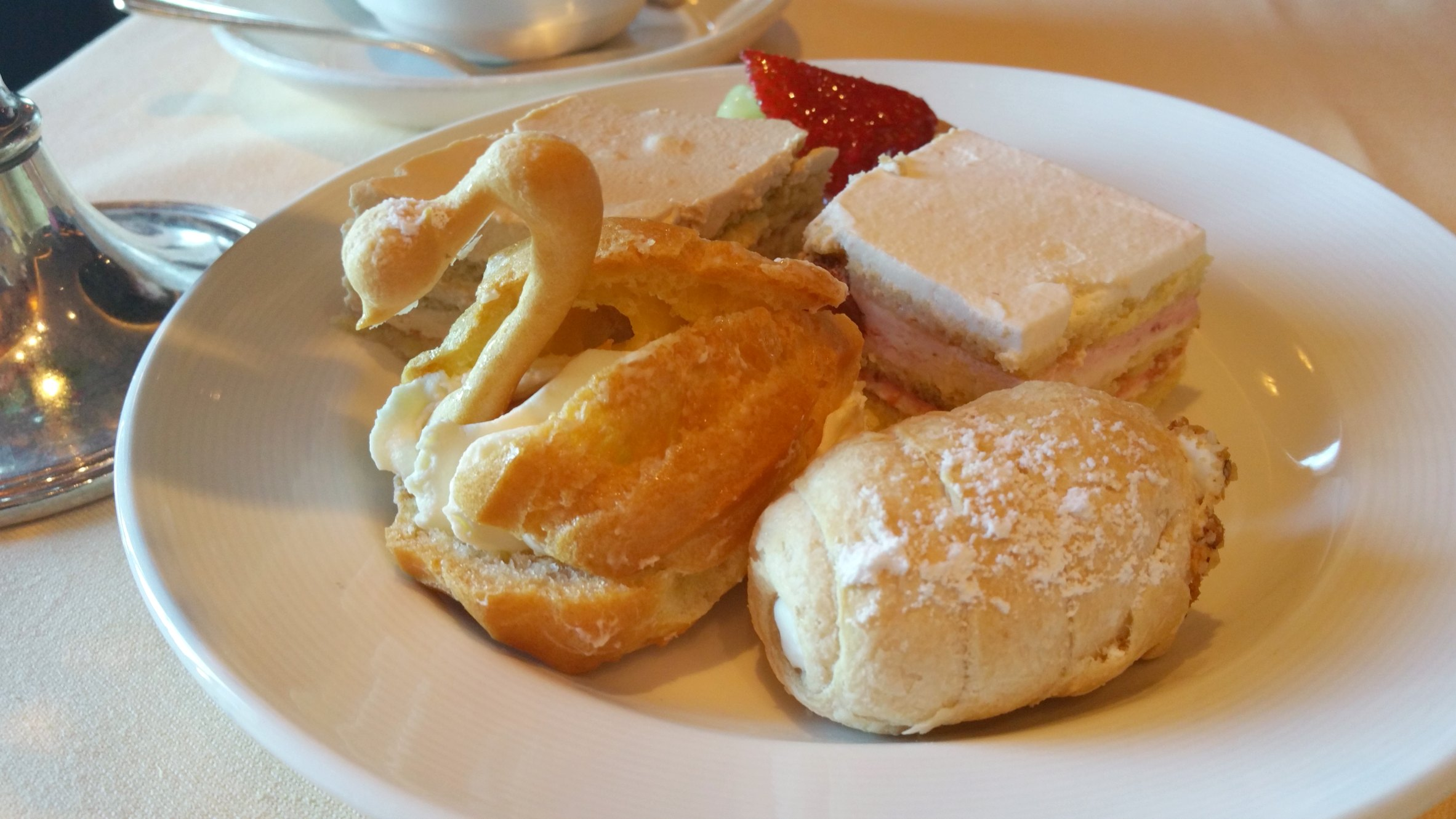 pastries afternoon tea princess cruises