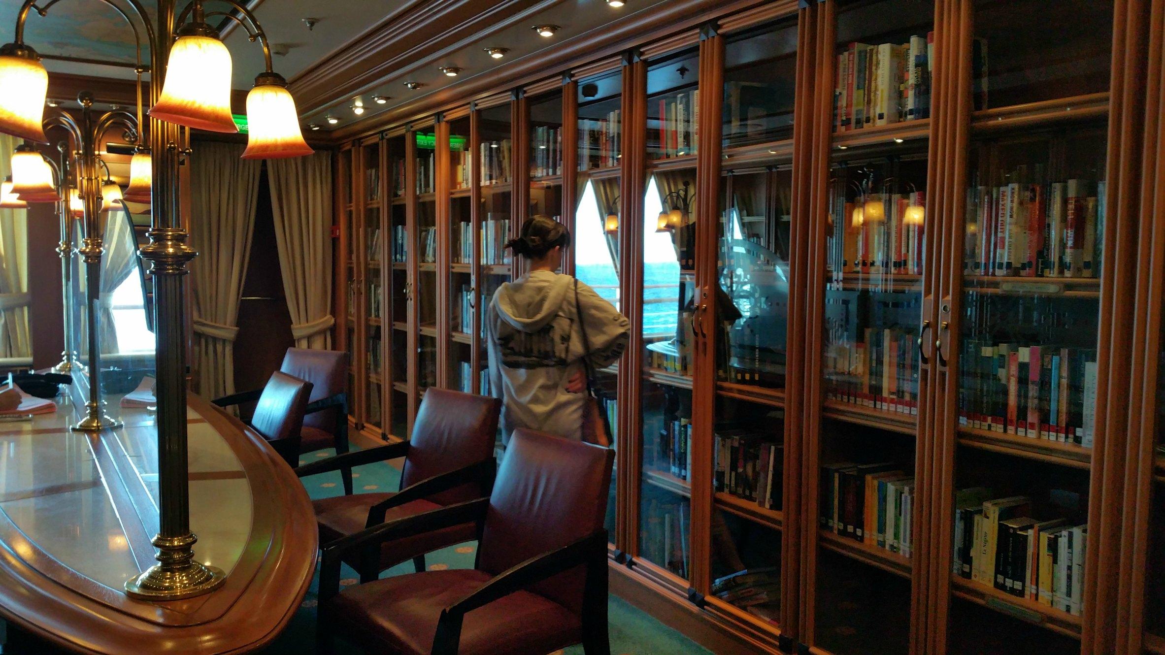 princess cruises library
