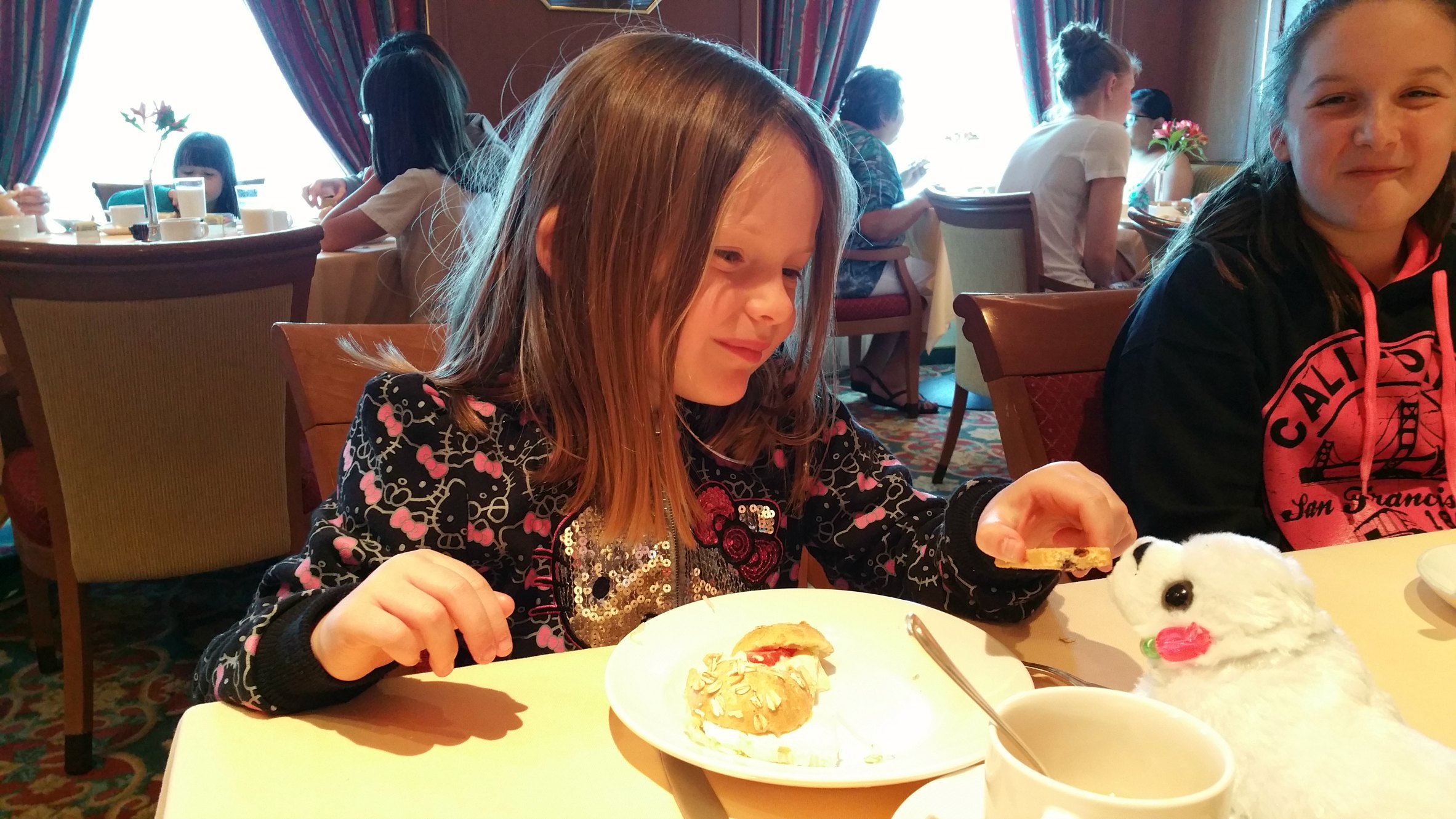 tea for kids princess cruises