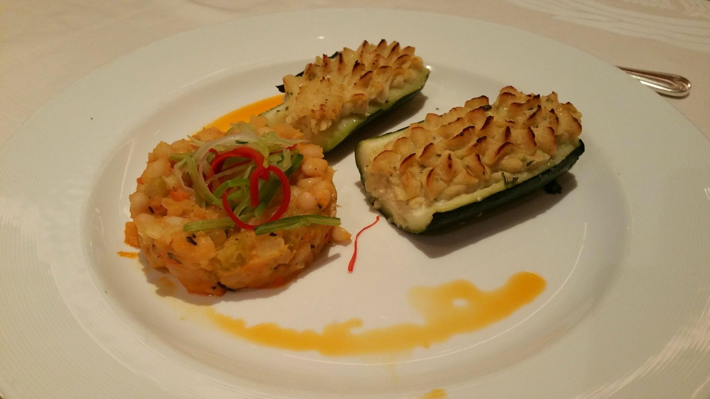vegetarian italian dinner