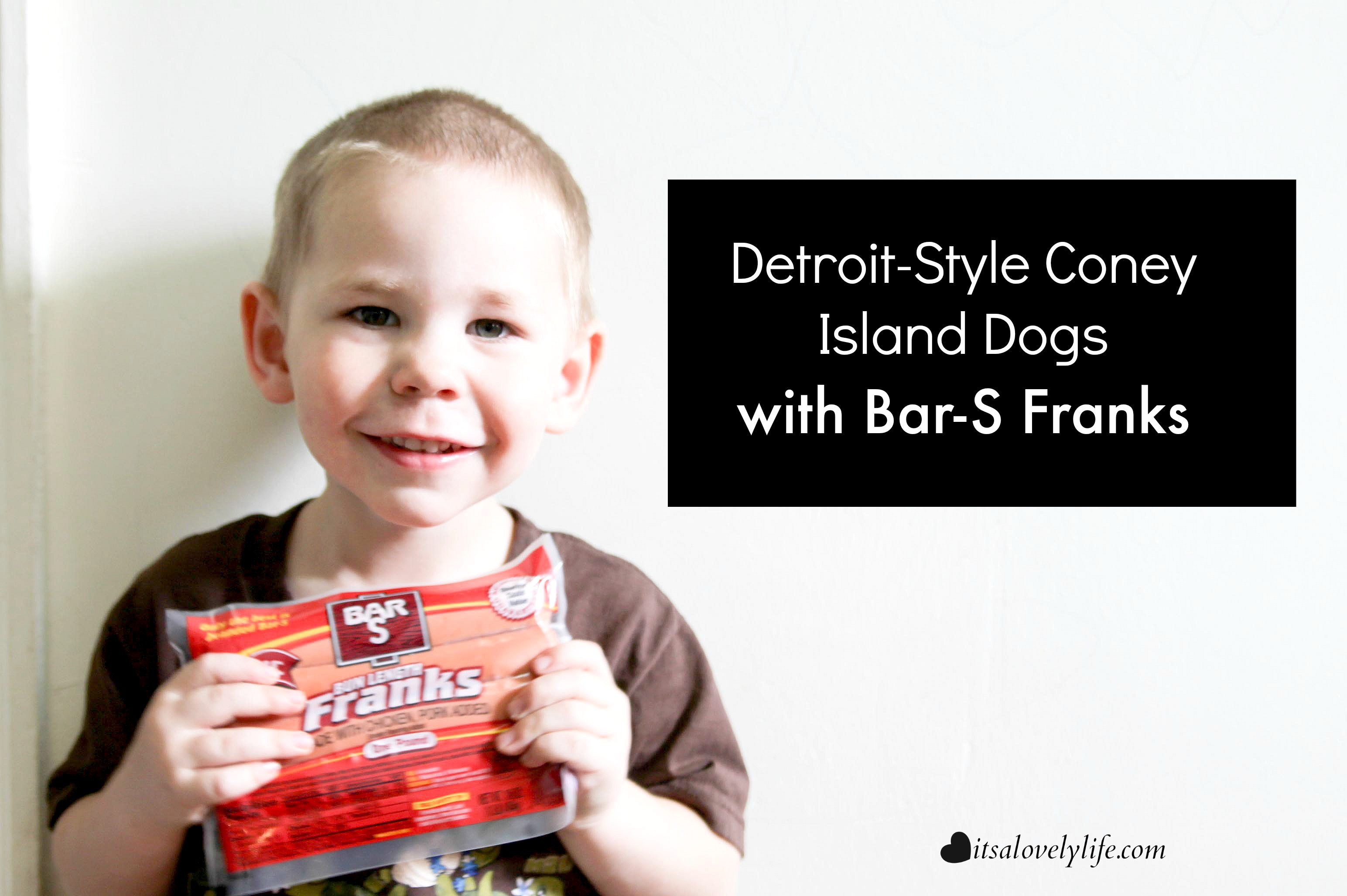 Detroit Coney Dog Bar-S Franks