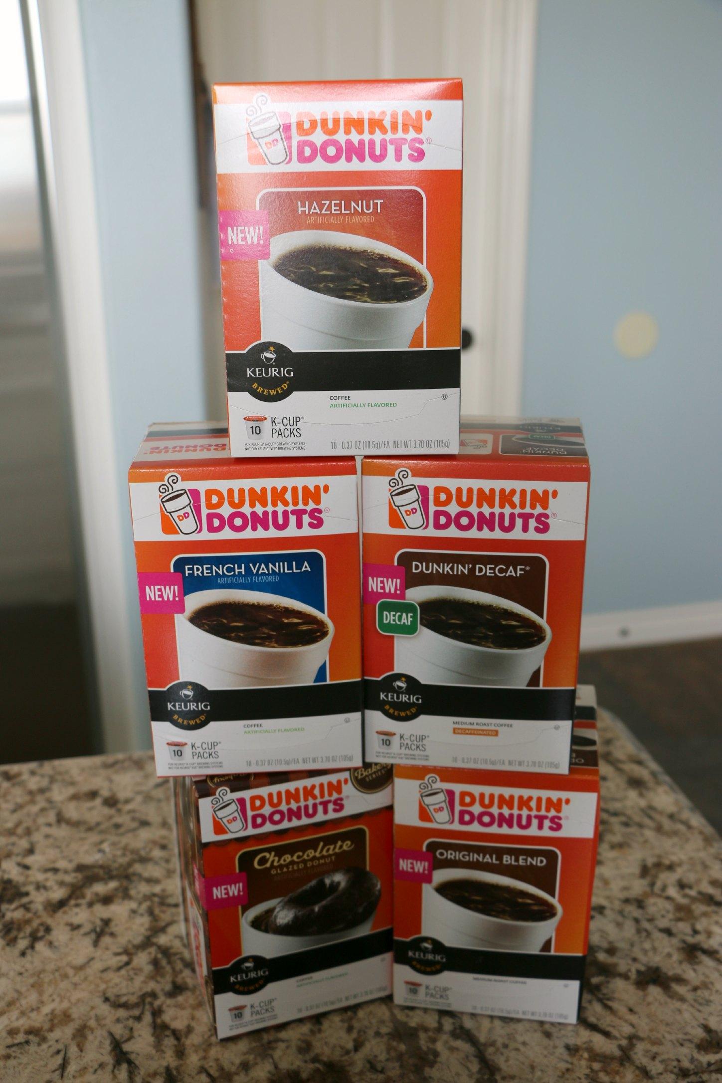 dunkin donut kcups