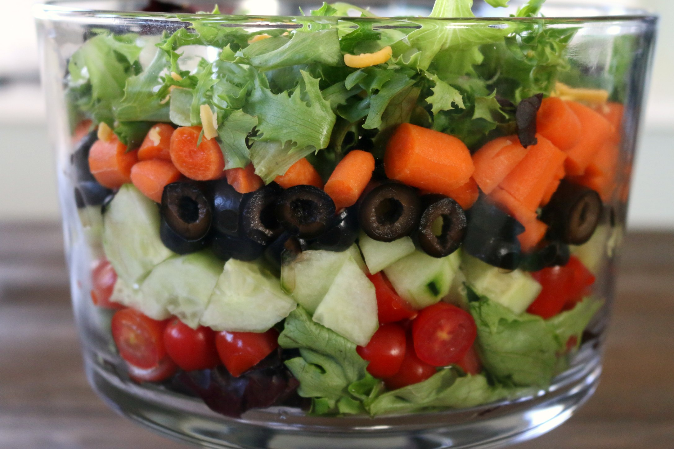 fresh veggie salad
