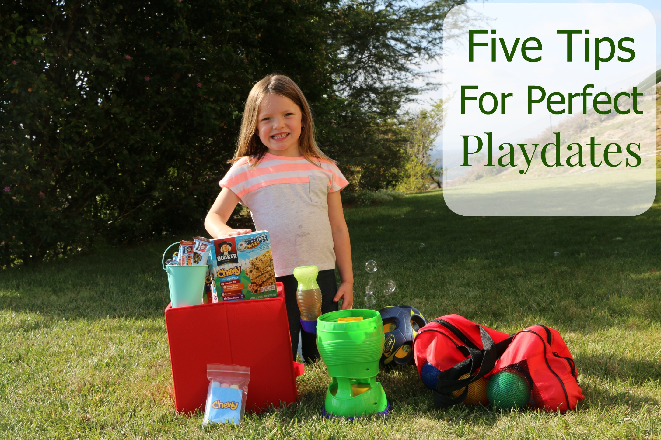 how to throw a perfect playdate