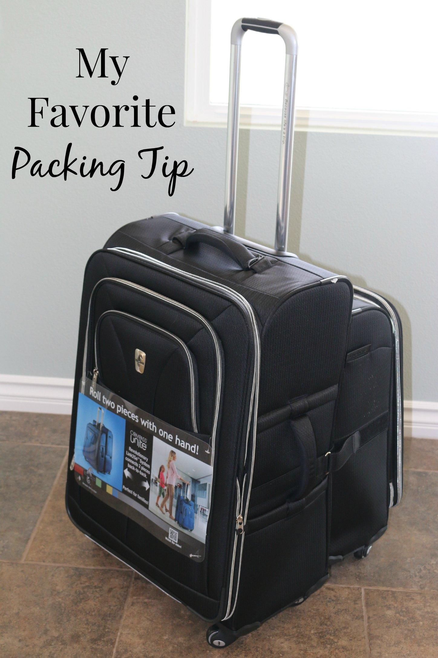 my favorite packing tip