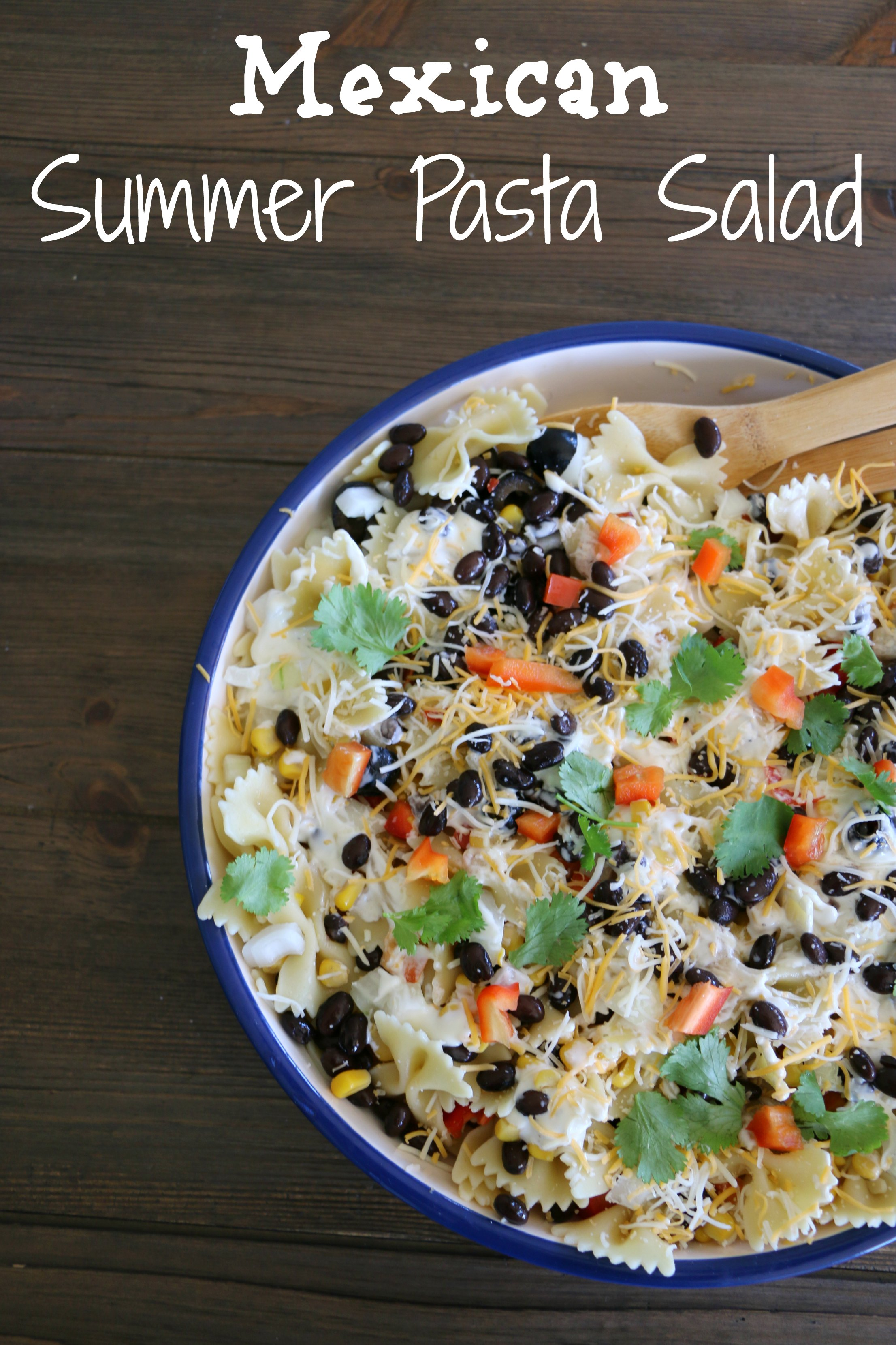 mexican summer pasta salad