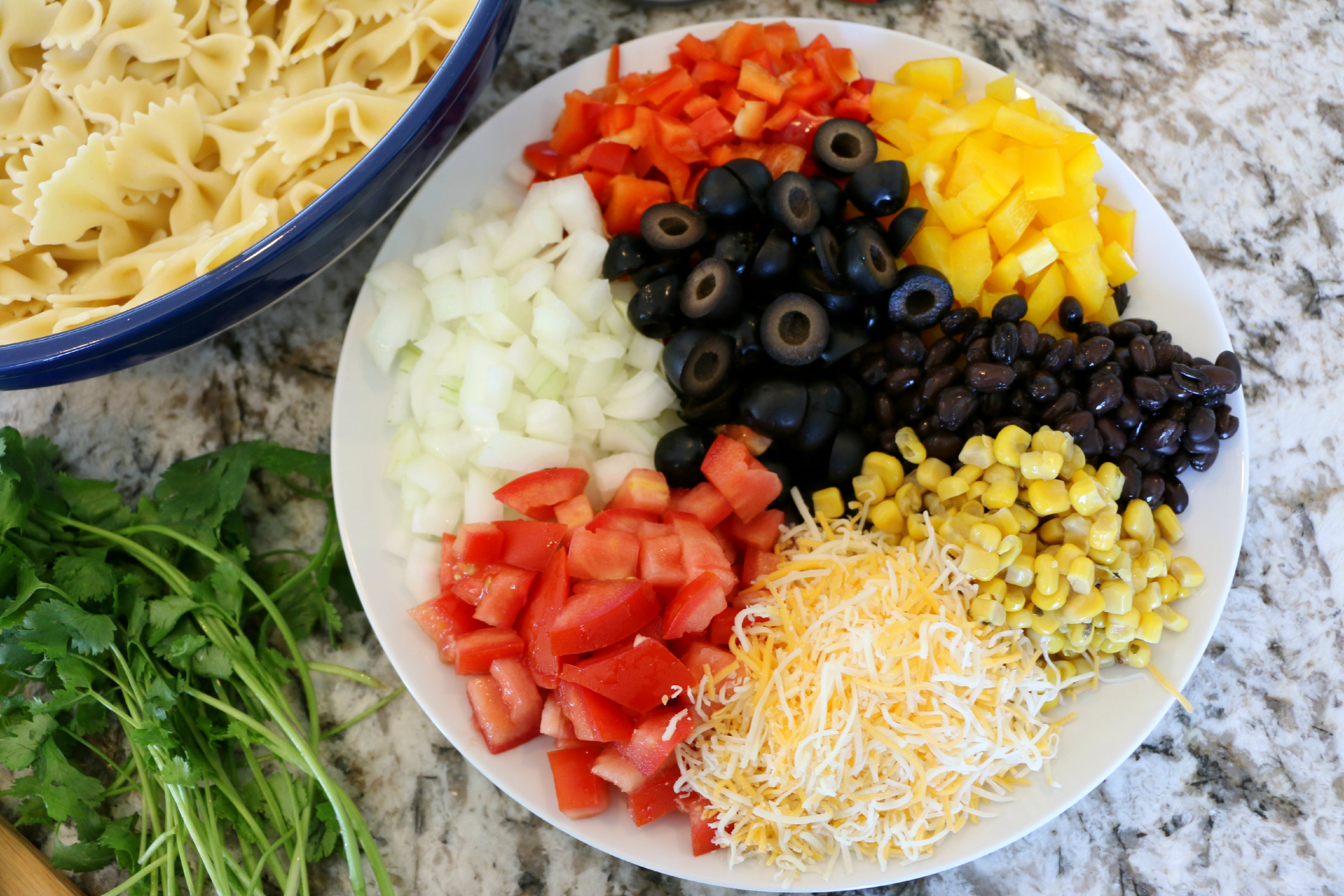 summer pasta salad ingredients