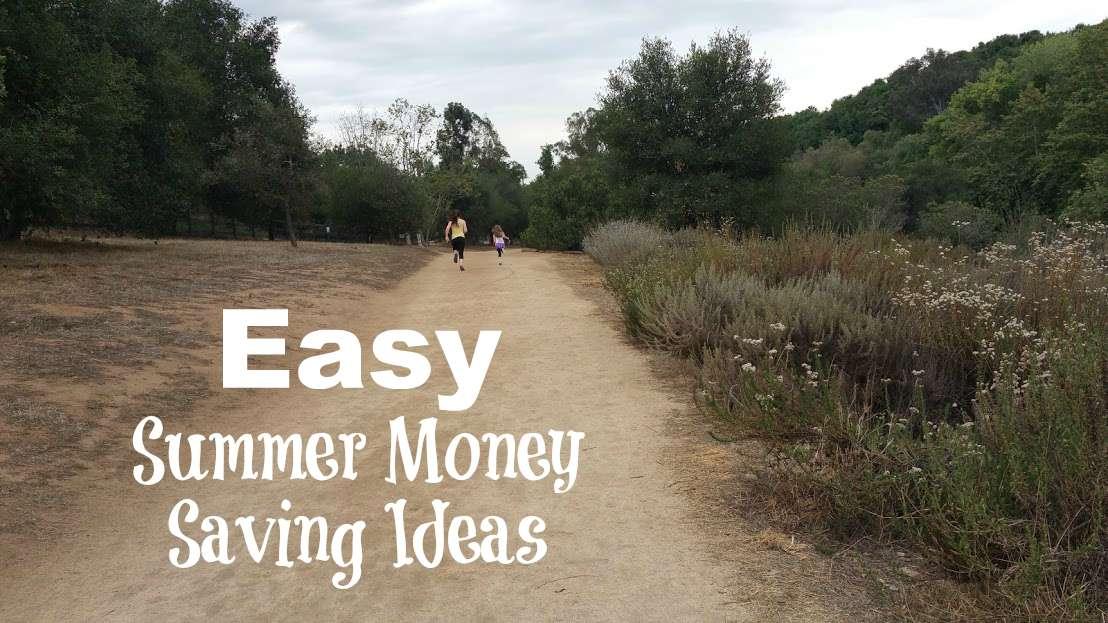 easy summer money saving ideas