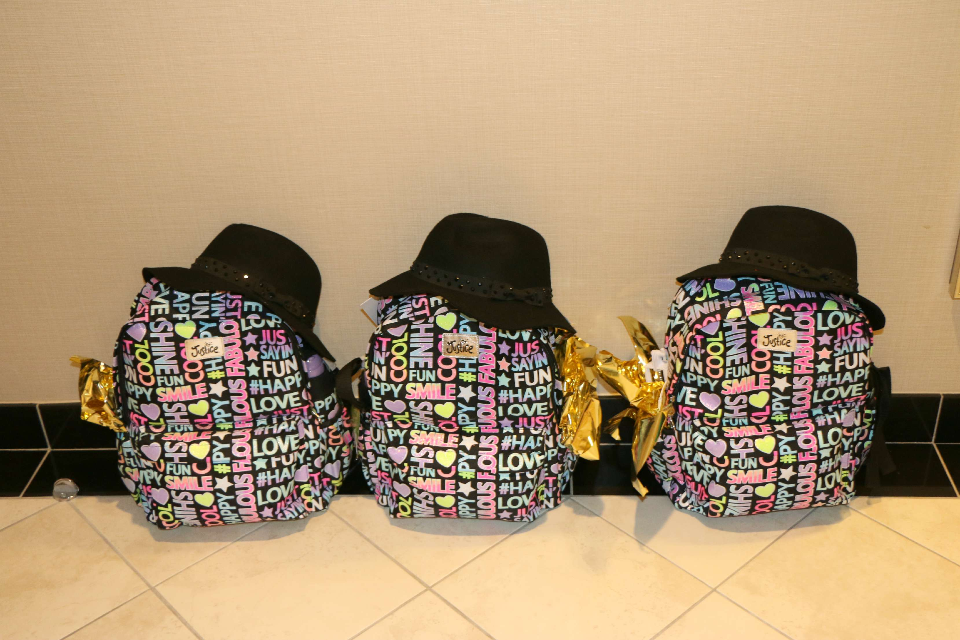 justice backpacks for back to school