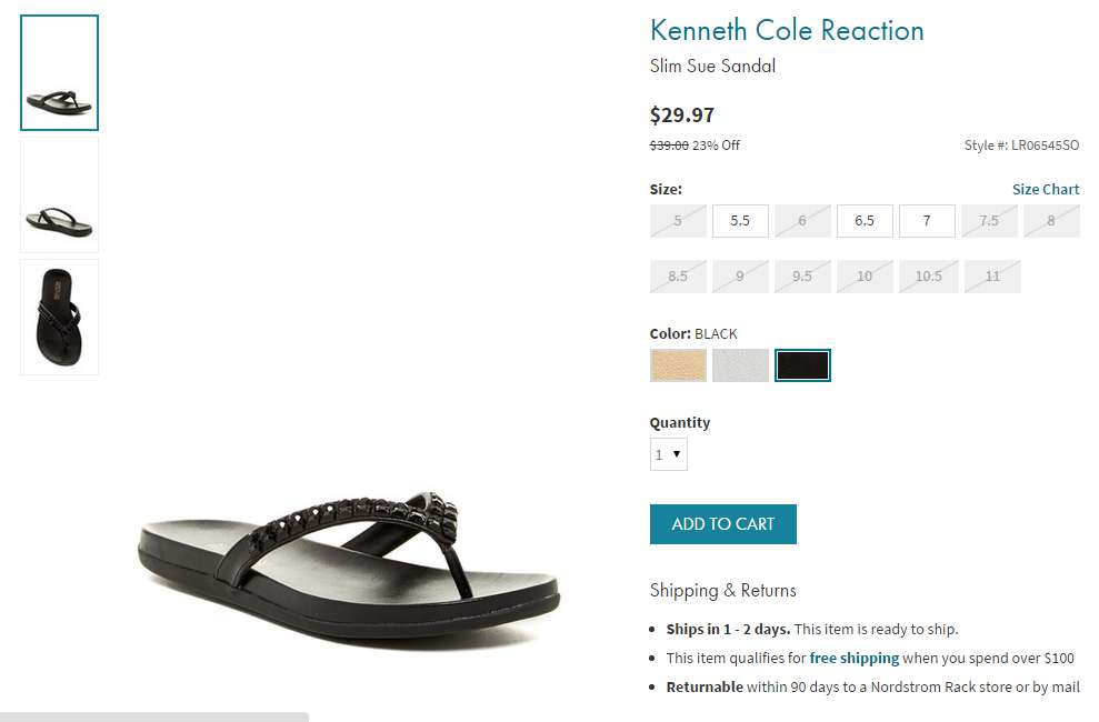 kenneth cole summer sandals