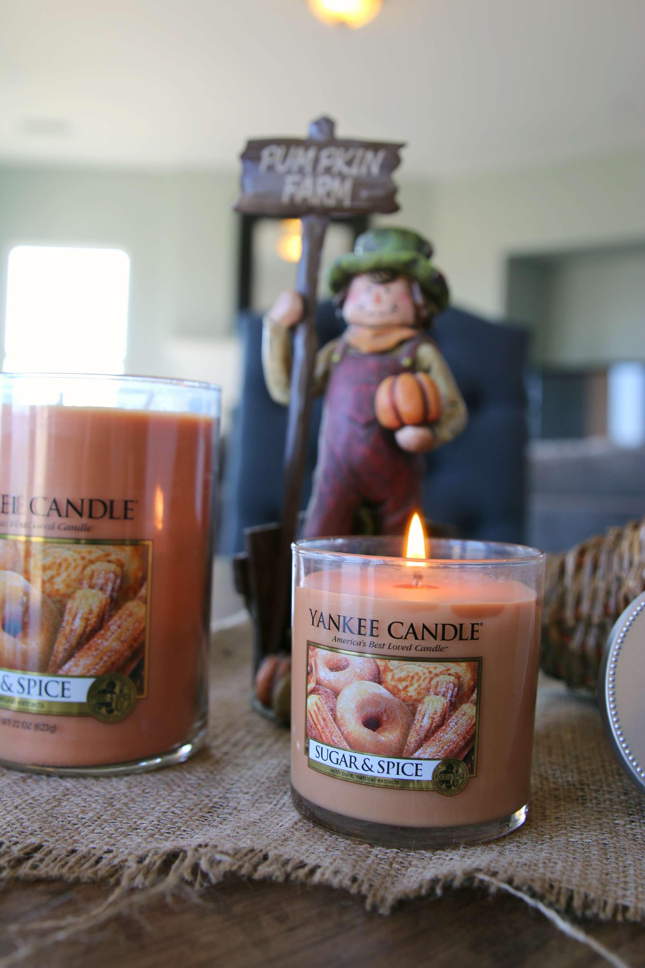 yankee candle sugar & spice