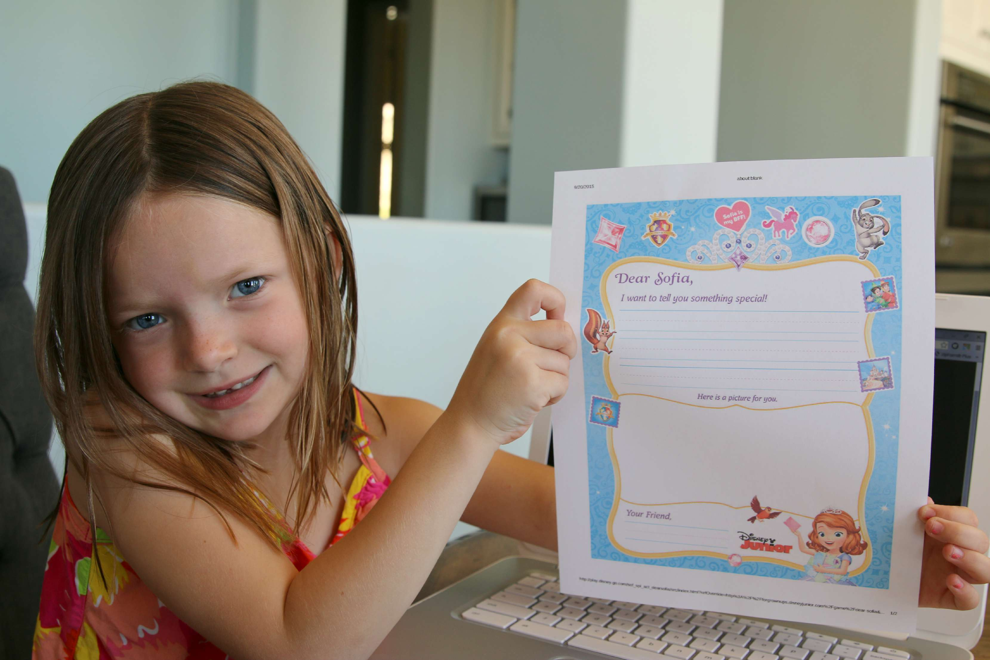 teaching kids to write letters