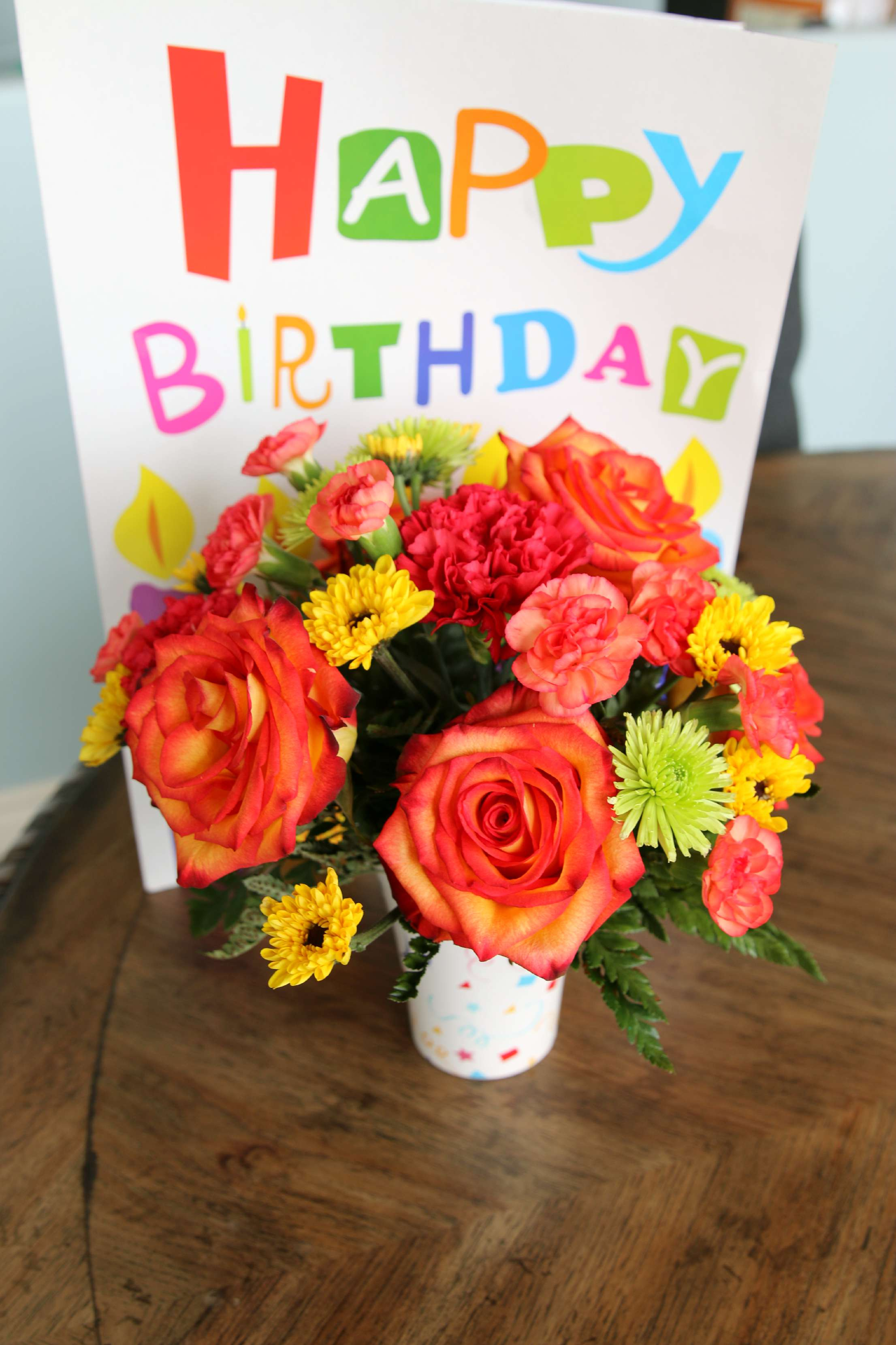 How my birthday was brightened with a teleflora bouquet its a this year we celebrated my birthday in the beautiful mountains of park city utah izmirmasajfo