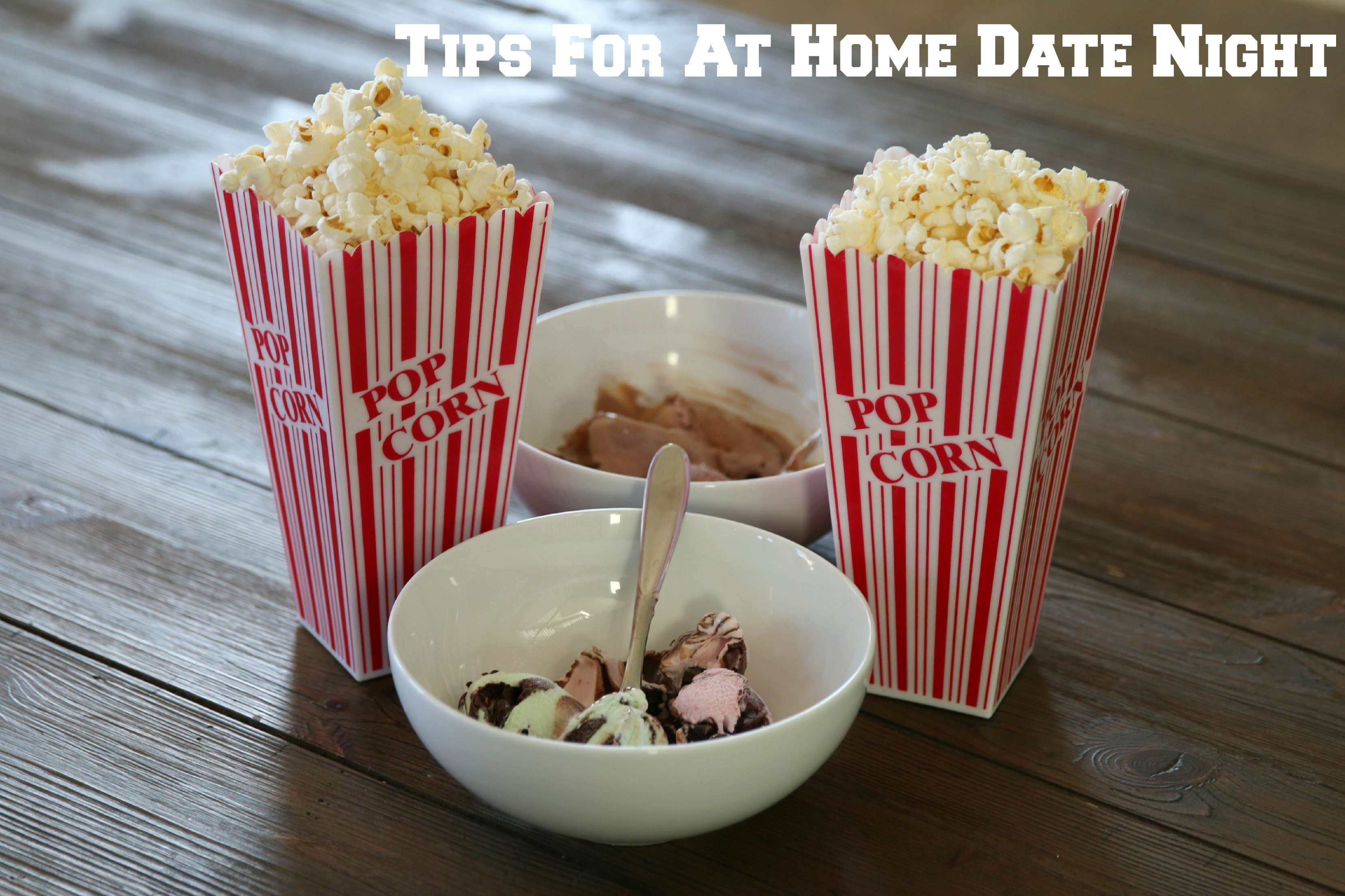 tips for at home date night
